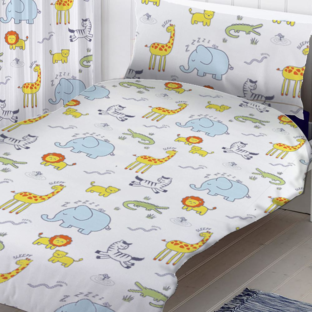 housse de couette junior ensembles b b literie dinosaures. Black Bedroom Furniture Sets. Home Design Ideas