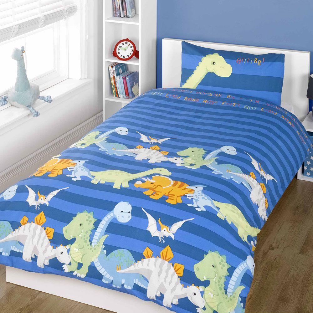 DINOSAUR DESIGN SINGLE Amp DOUBLE DUVET COVER SETS