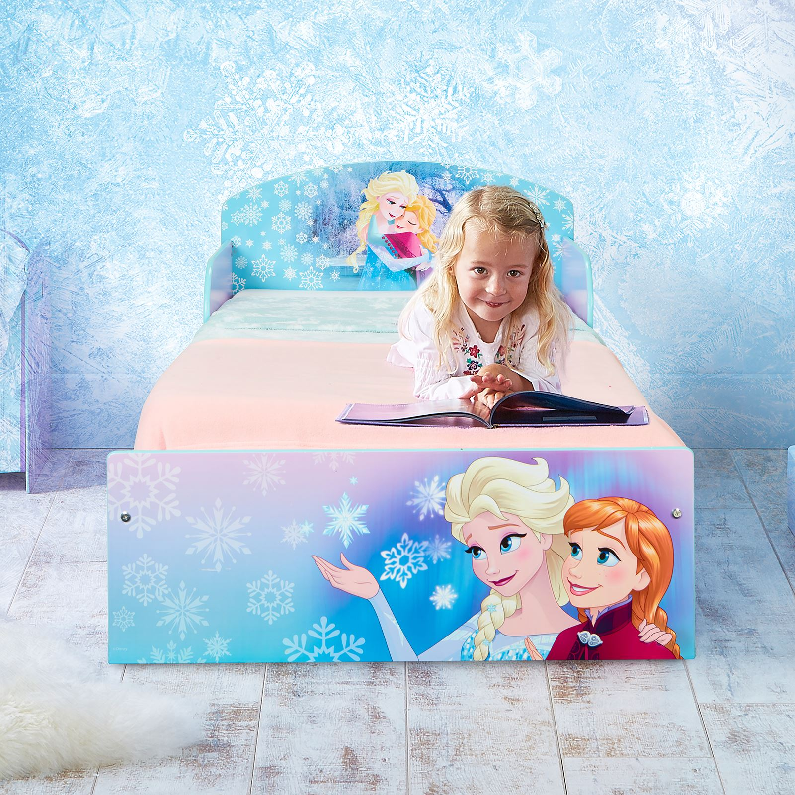 miniatura 13 - KIDS CHARACTER TODDLER BEDS - BOYS GIRLS BEDROOM DISNEY