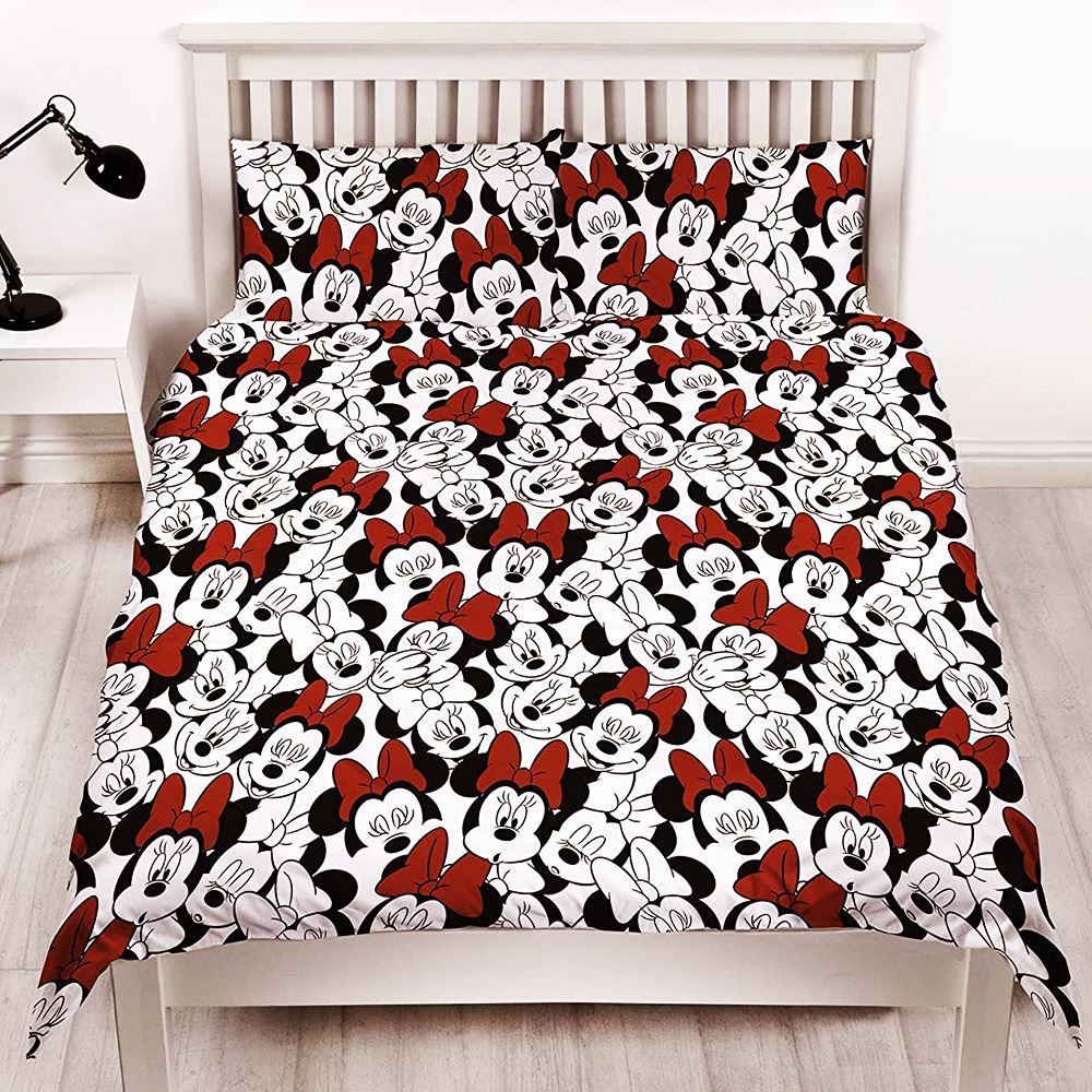 MINNIE-MOUSE-DUVET-COVERS-KIDS-GIRLS-BEDDING-SINGLE-DOUBLE-JUNIOR thumbnail 16