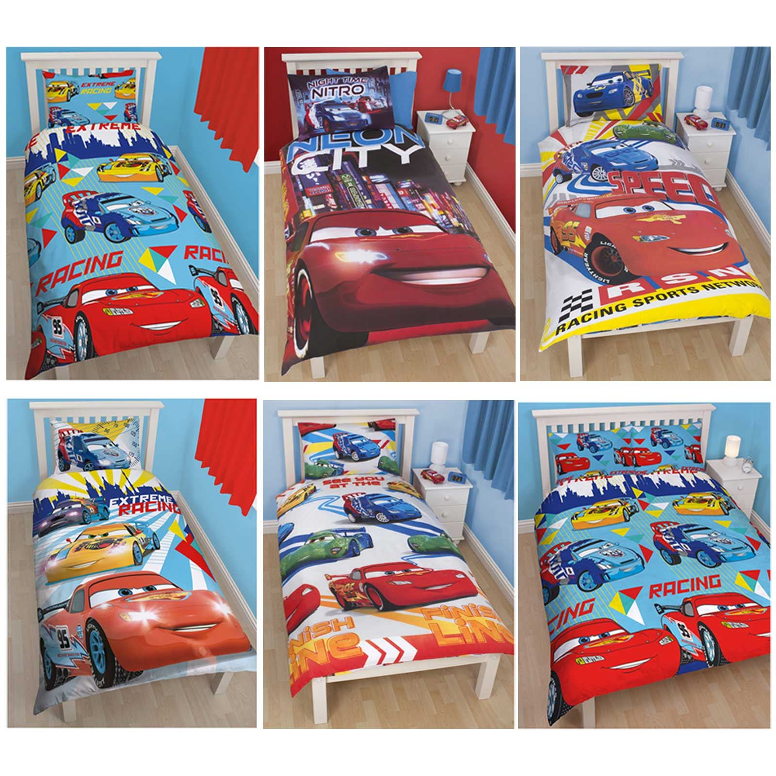 disney cars bedroom set disney cars duvet covers single amp junior bedding 15170