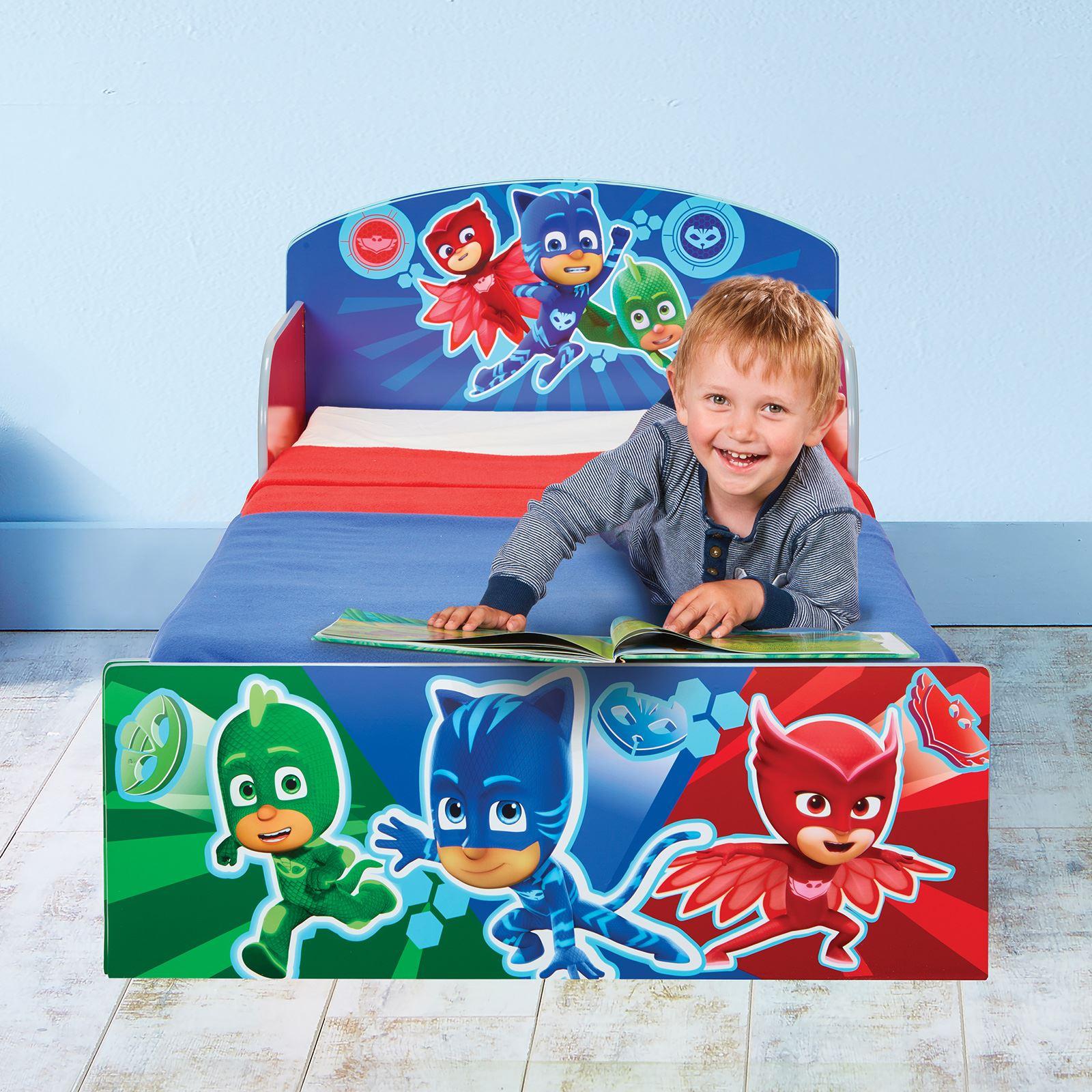Offiziell charakter kleinkind bett mit seitenpanel paw patrol pj masken mehr ebay - Bett mit seitenwand ...