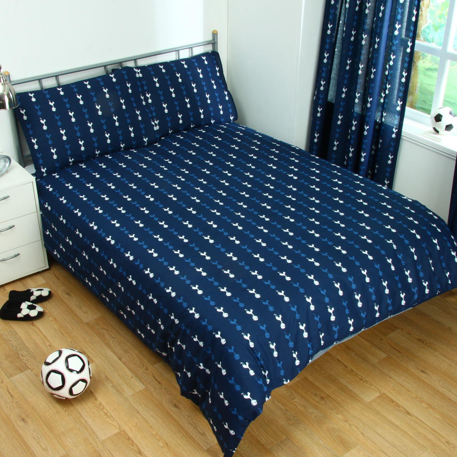 Duvet Cover Tottenham Hotspur Fc Pulse Doppel Bettbezug Und Kissenbezug Bettwäschegarnituren Möbel & Wohnen
