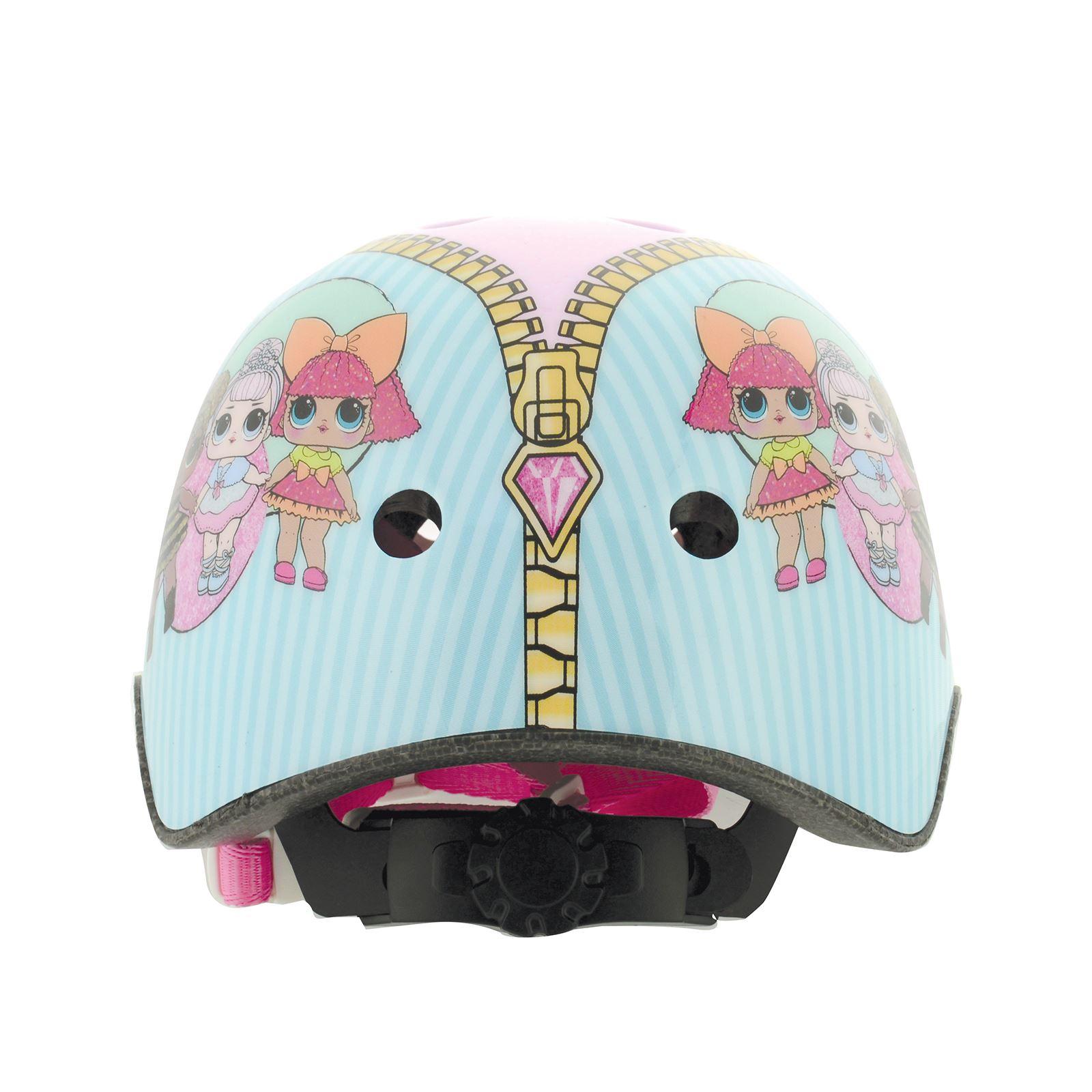 Kinder-Disney-Charakter-Sicherheit-Zyklus-Fahrrad-Helme-Peppa-Pig-PJ-Masken-amp-mehr Indexbild 6
