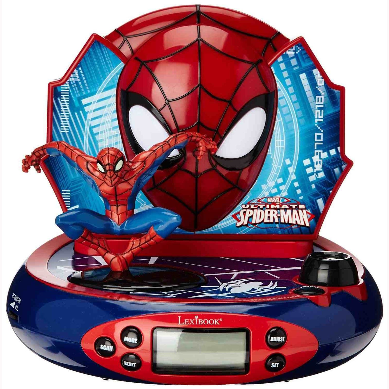Radio Projector Alarm Clock Avengers Princess Frozen
