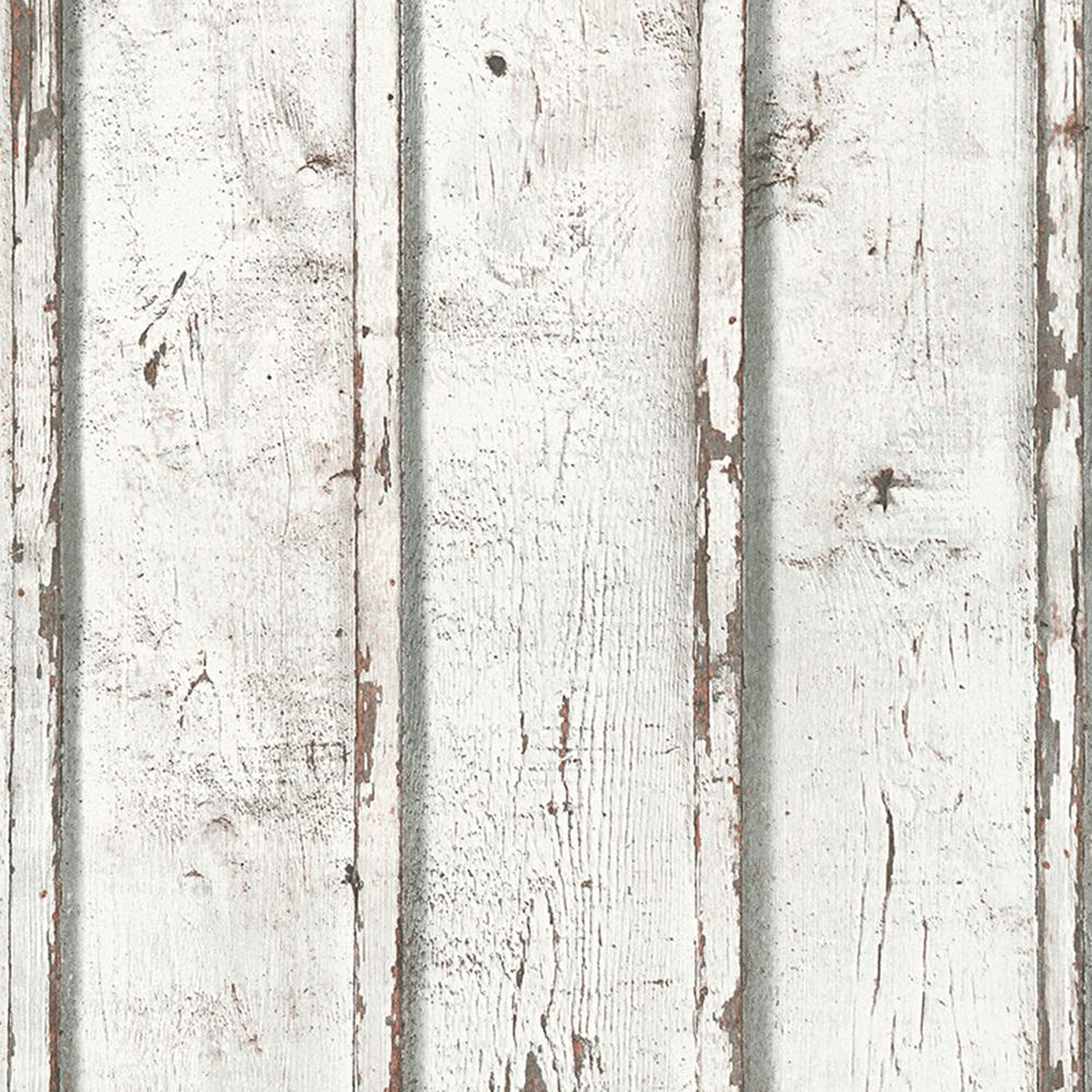 AS CREATION WOOD PLANKS WALLPAPER NARROW RUSTIC WHITE GREY BLUE FEATURE WALL NEW