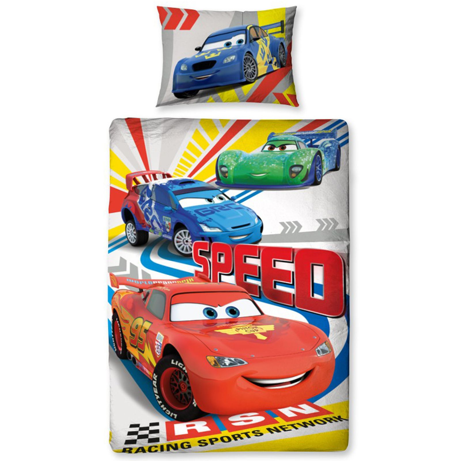 Disney Cars Duvet Covers Single Double Amp Junior Bedding