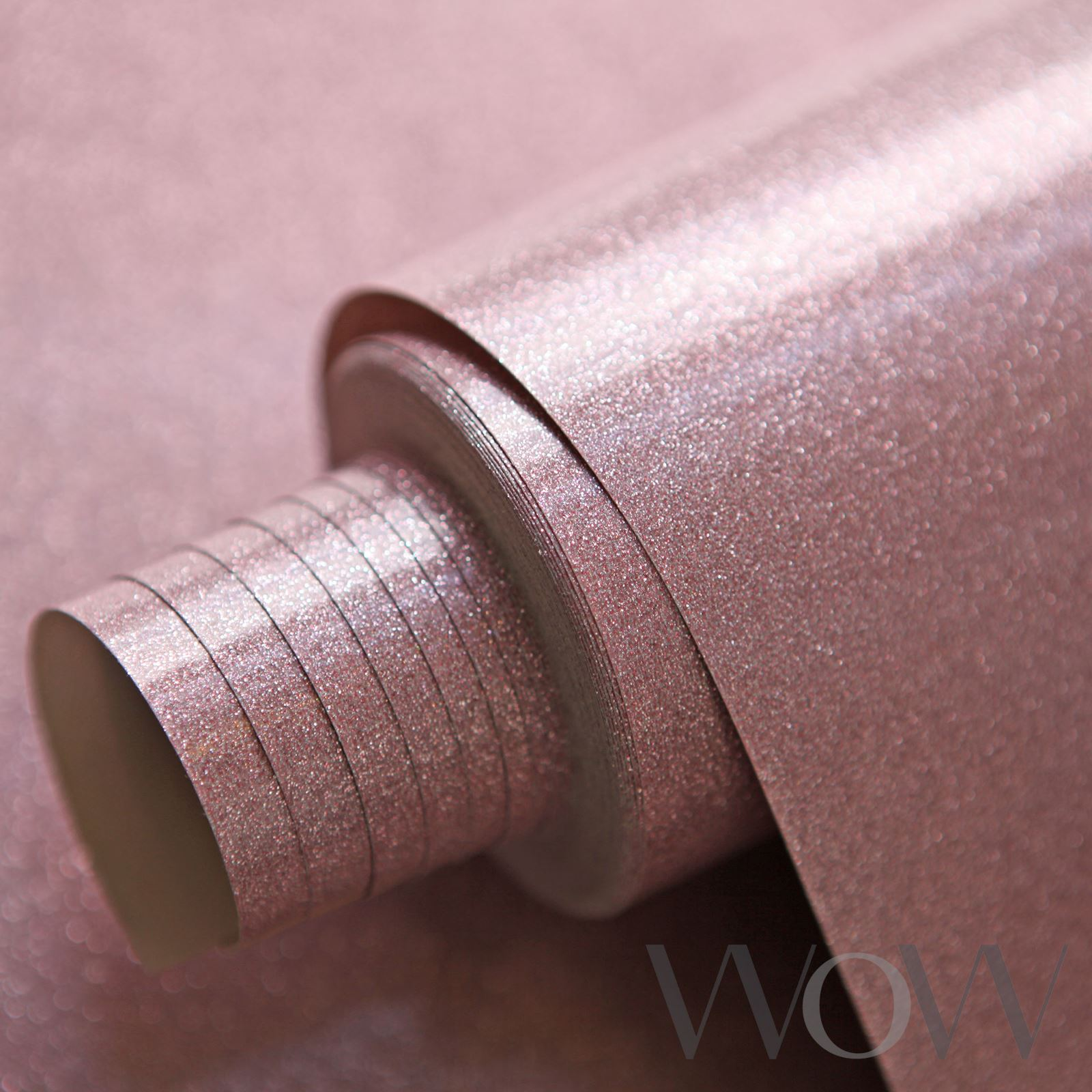 Luxe Glitter Sparkle Wallpaper Sapphire Pink Rose Gold Silver