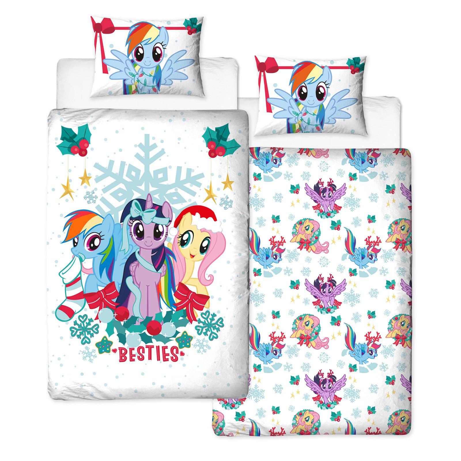 my little pony single junior duvet cover sets girls. Black Bedroom Furniture Sets. Home Design Ideas