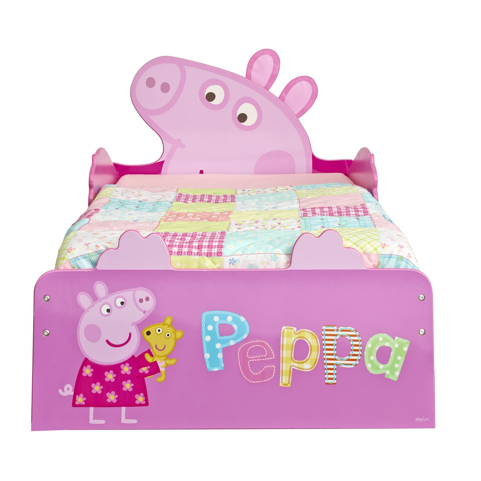 PEPPA PIG PINK TODDLER JUNIOR STORAGE BED MATTRESS AVAILABLE NEW FREE P