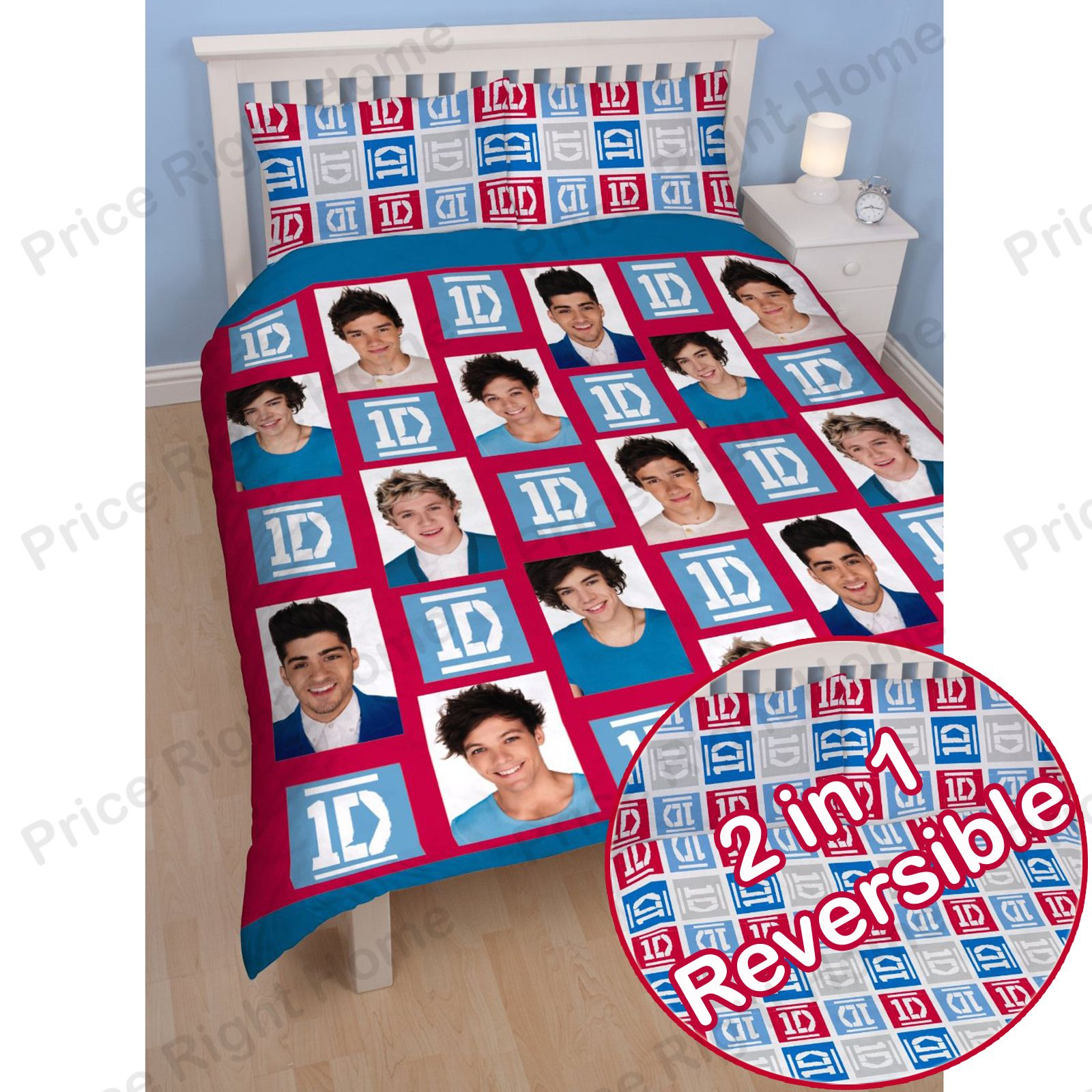 Superior One Direction Duvet Cover Sets Single Double Sizes