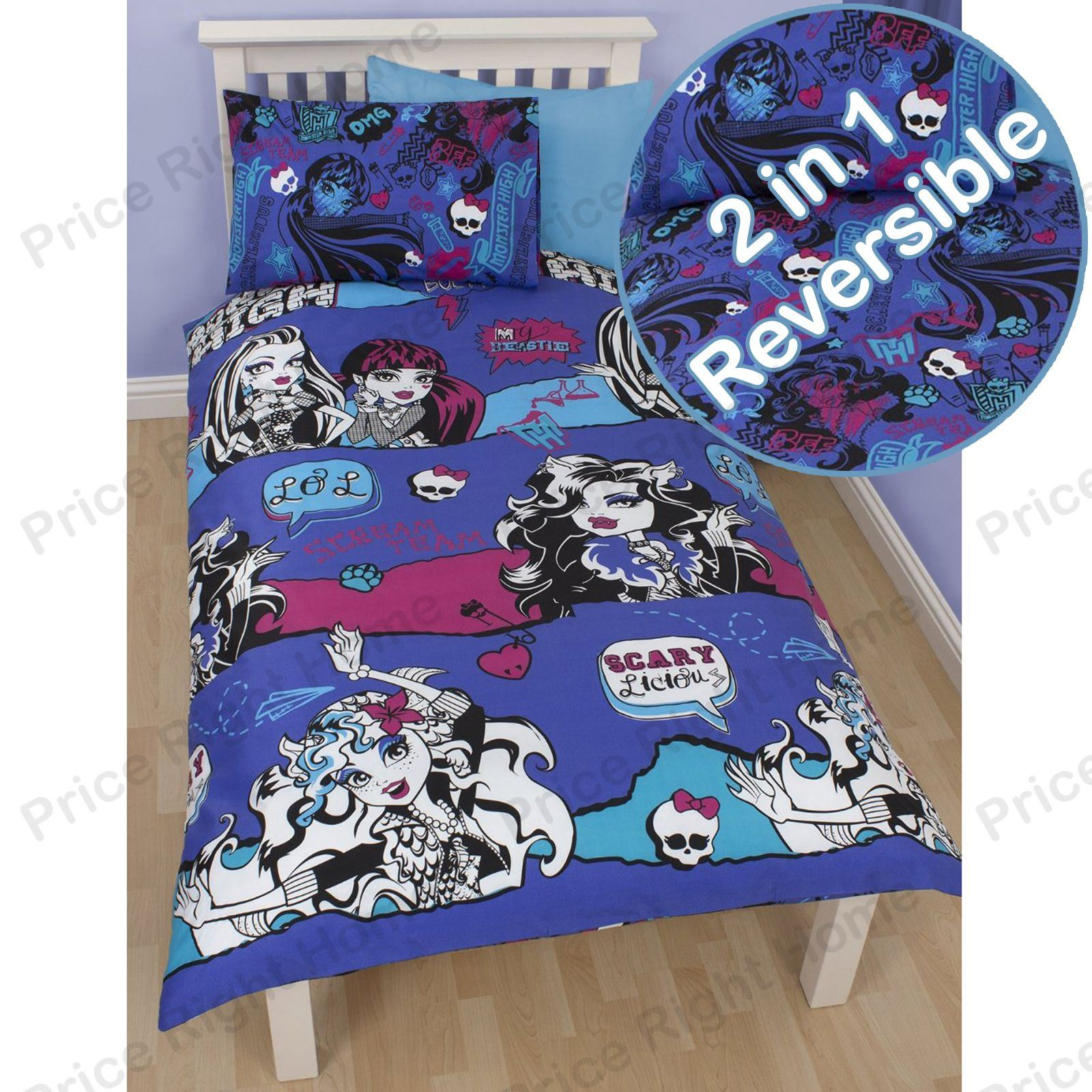 Disney and Character Single Duvet Covers Kids Childrens Bedding