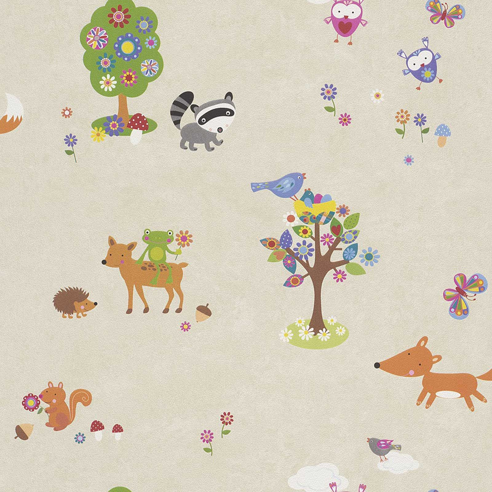 Woodland Animals Wallpaper Amp Borders Bedroom Amp Nursery