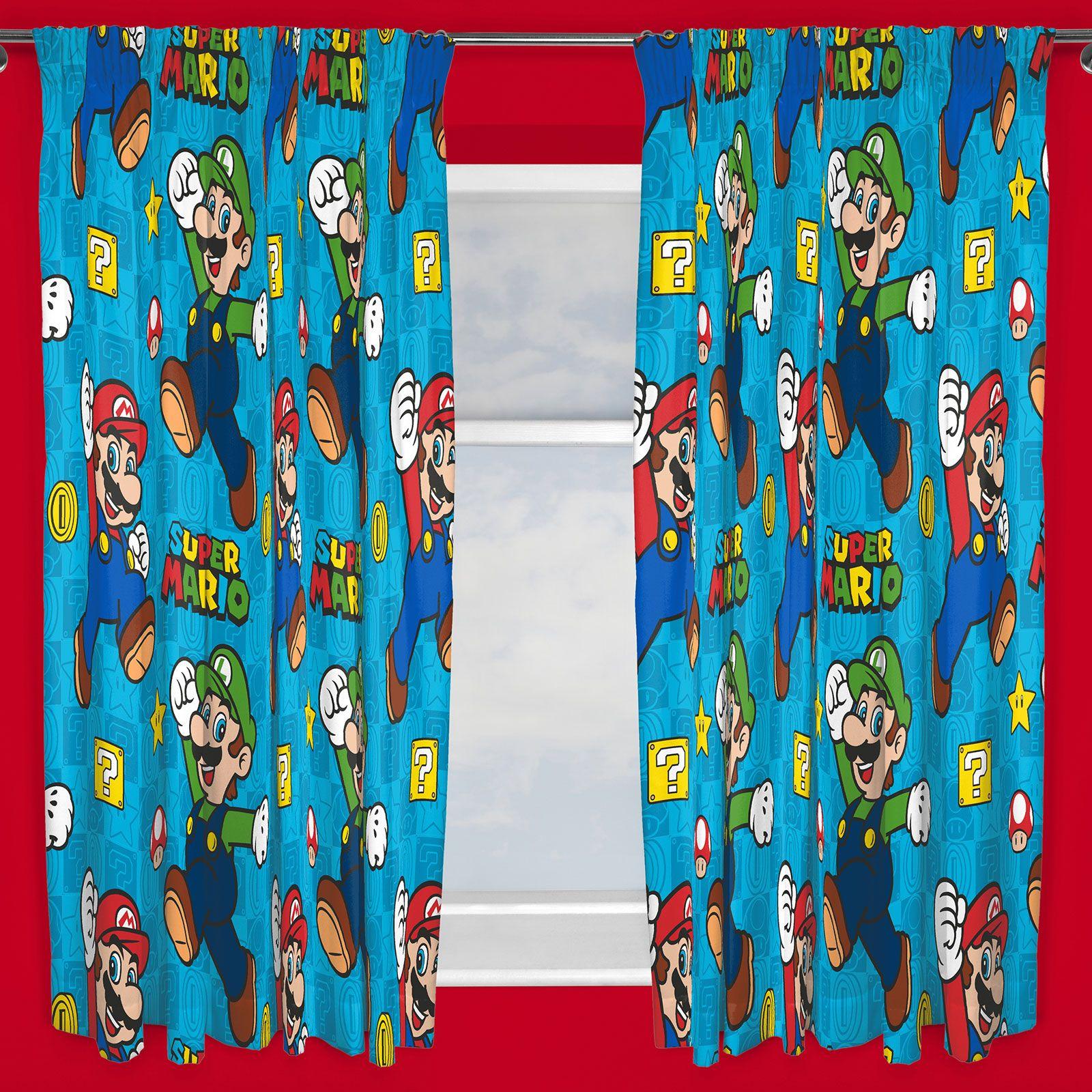 Super Mario Bedroom Official Nintendo Super Mario Brothers Bedding Duvet Cover Sets