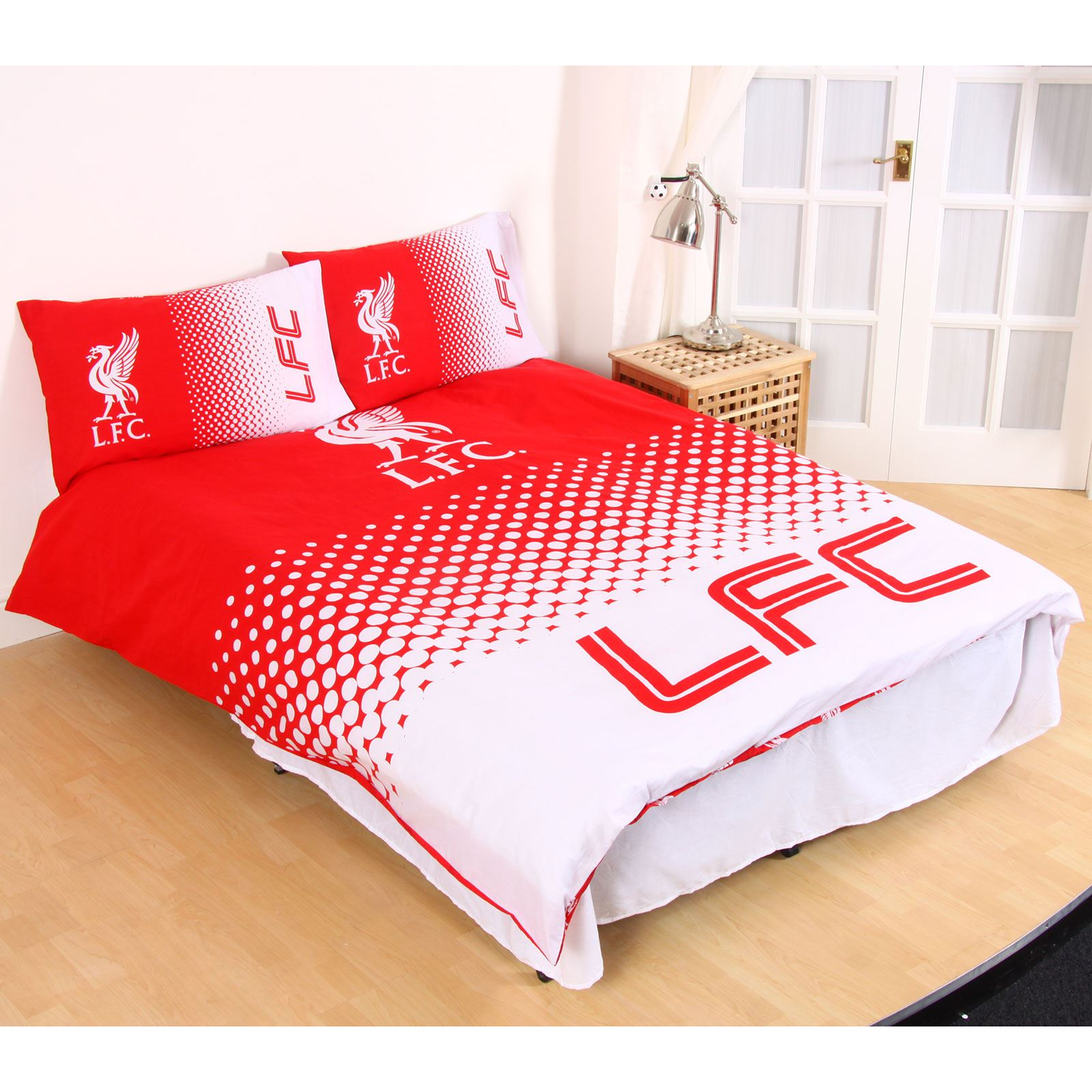 Liverpool Fc Fade Duvet Cover Sets Single Double