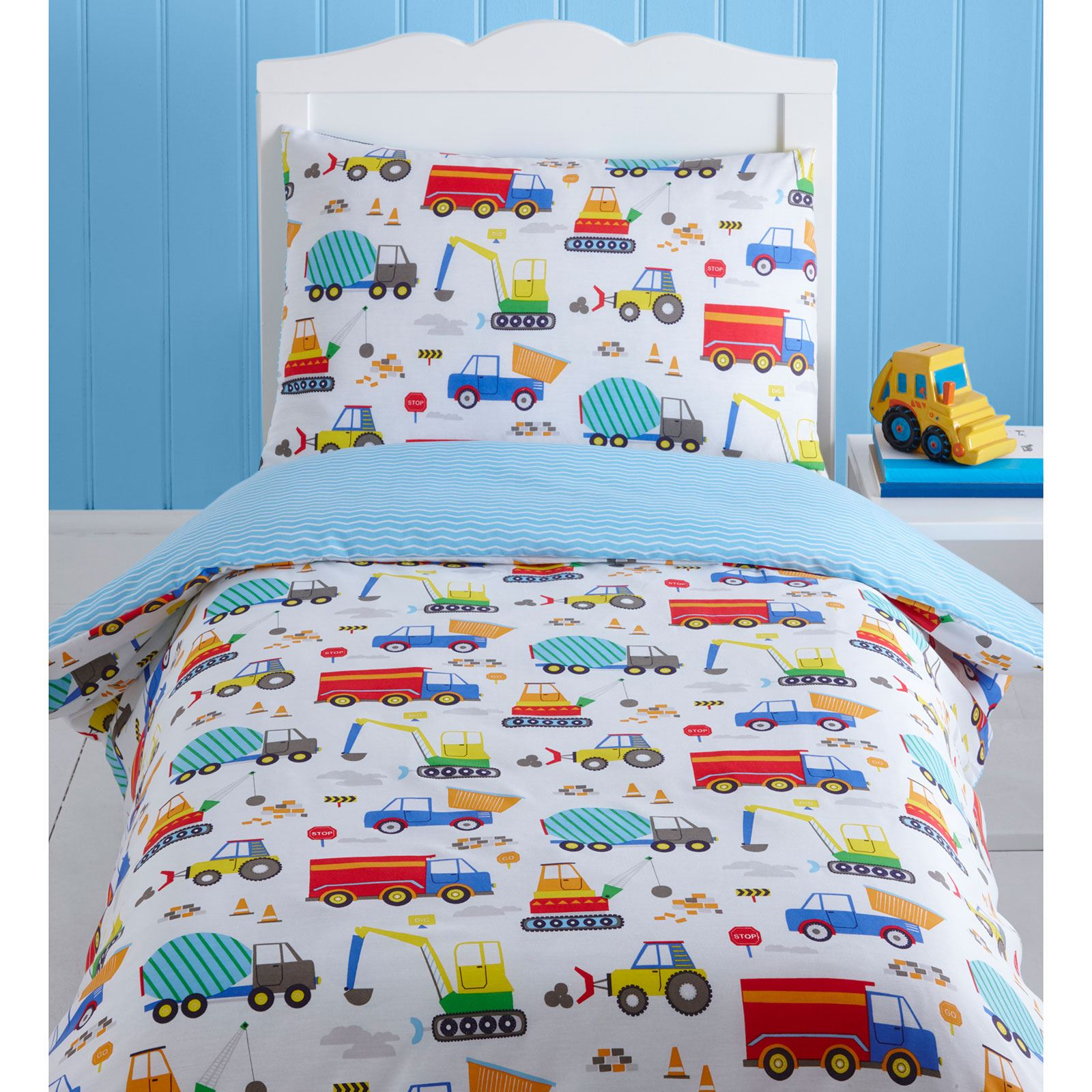 Toddler Bedding Sets Trucks