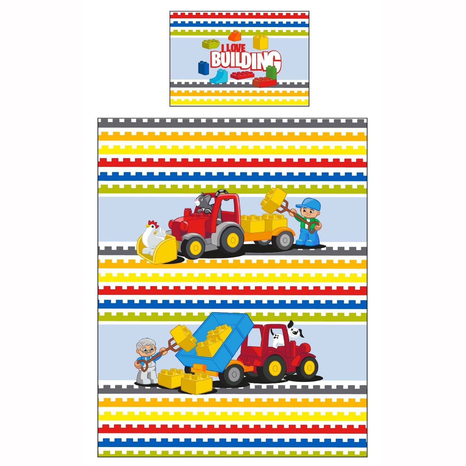 Kids Character Junior Cot Bedding Sets Disney Peppa