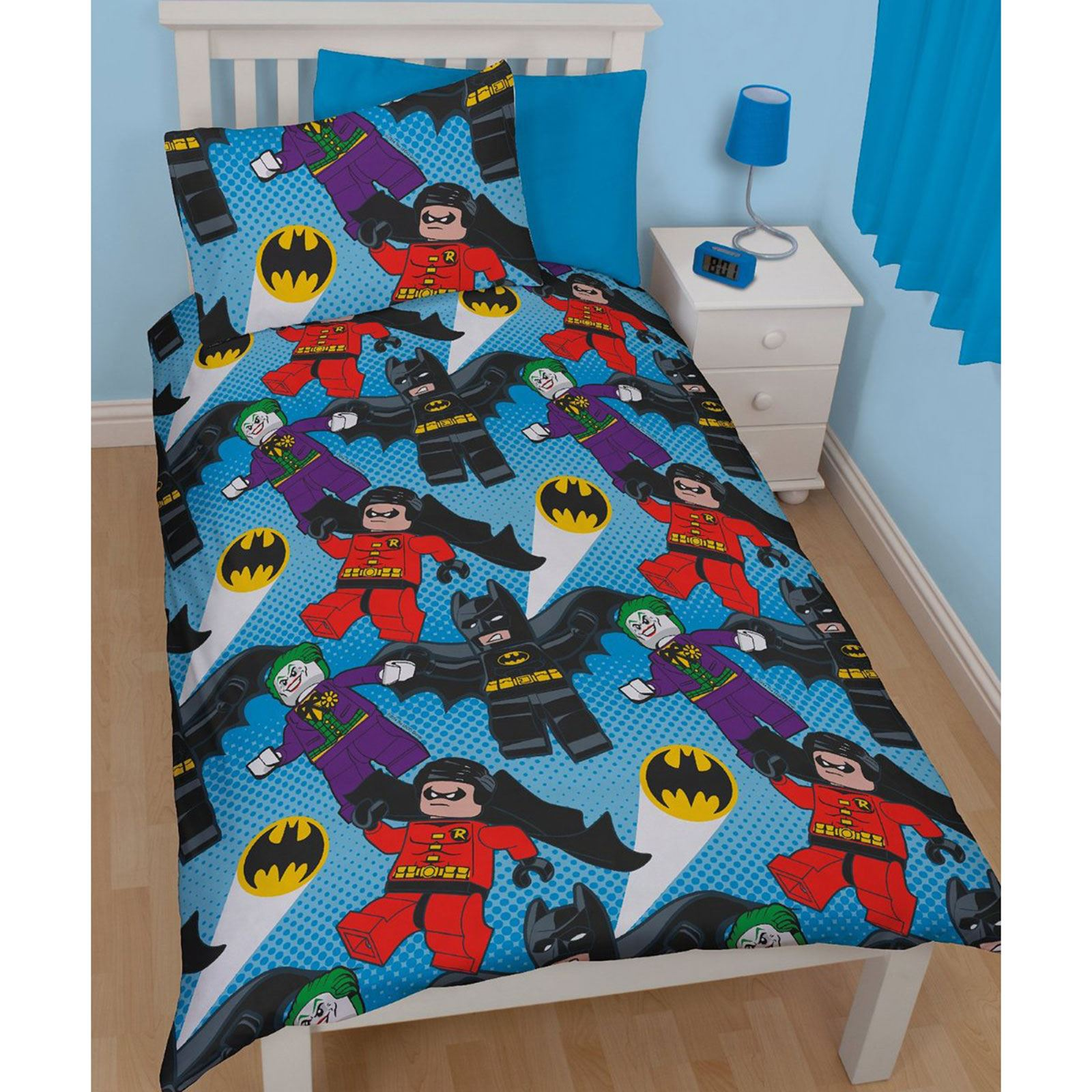 Lego Duvet Cover Set Bedding Single Ninjago Star Wars