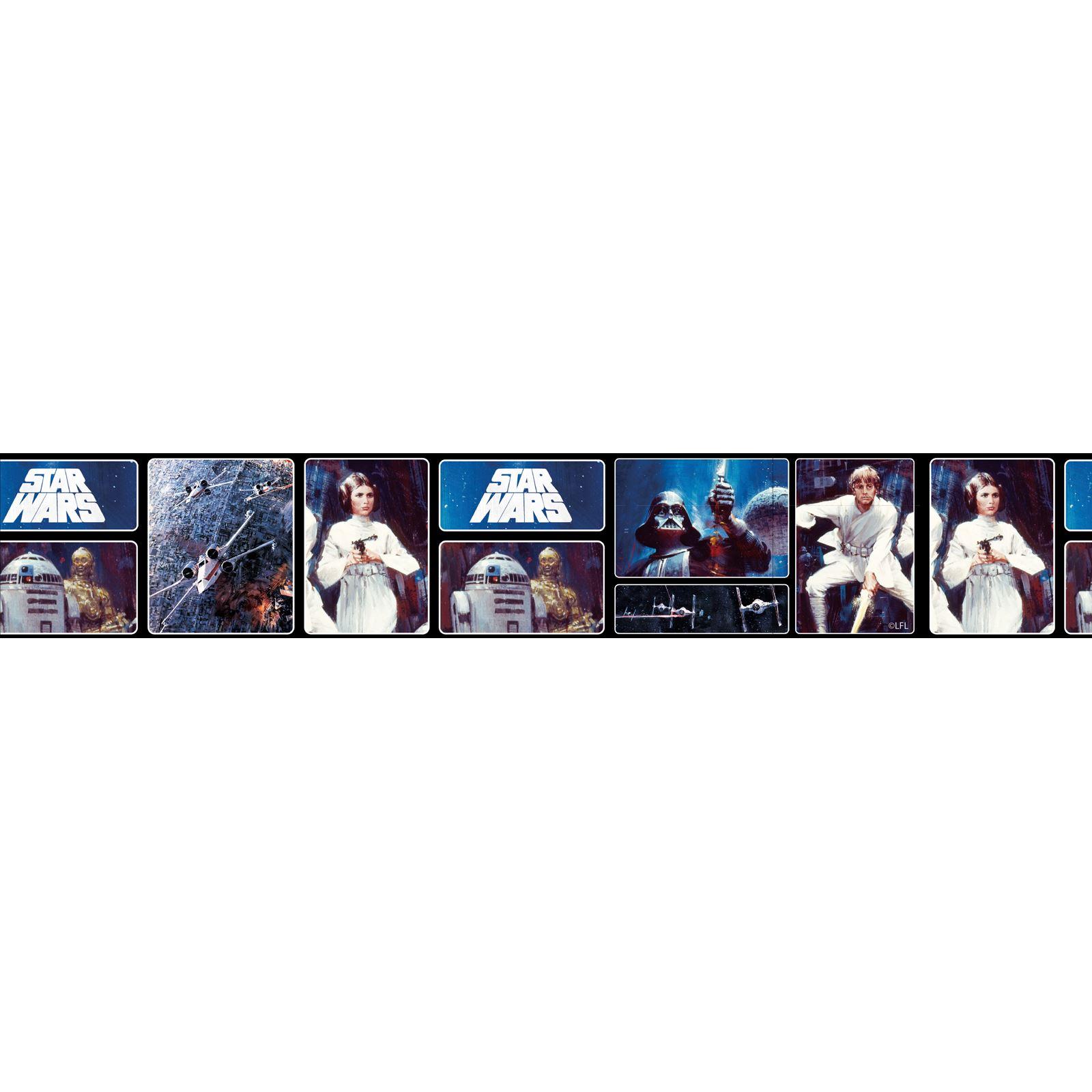 star wars wallpaper borders 5m various styles designs new kids