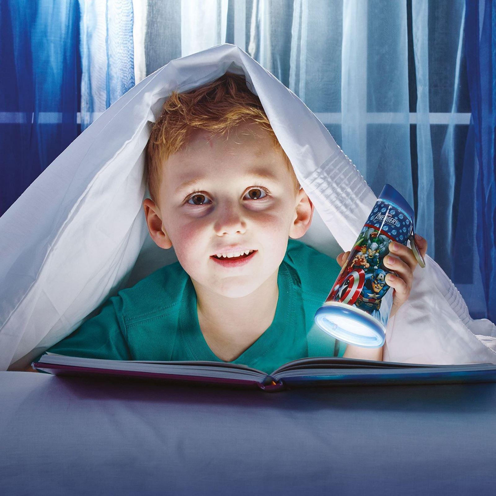 Indexbild 37 - Go Glow Nacht Beam Kipp Torch Beleuchtung Licht Kinder Schlafzimmer