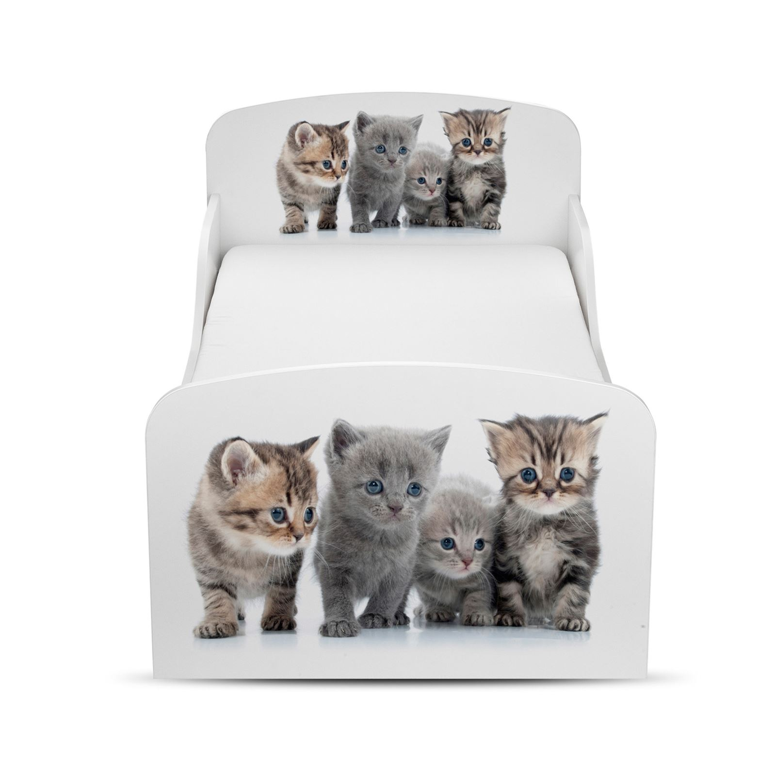 PRICE-RIGHT-Home-Chaton-Bebe-stockage-Lit-plus-entierement-a-ressort-matelas