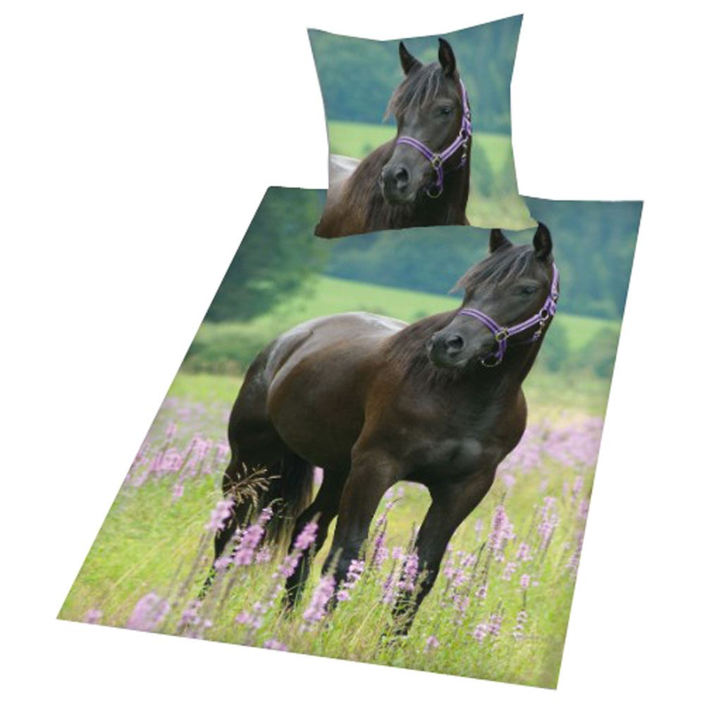 Animal Bedding 100 Cotton Duvet Covers Funny Horses