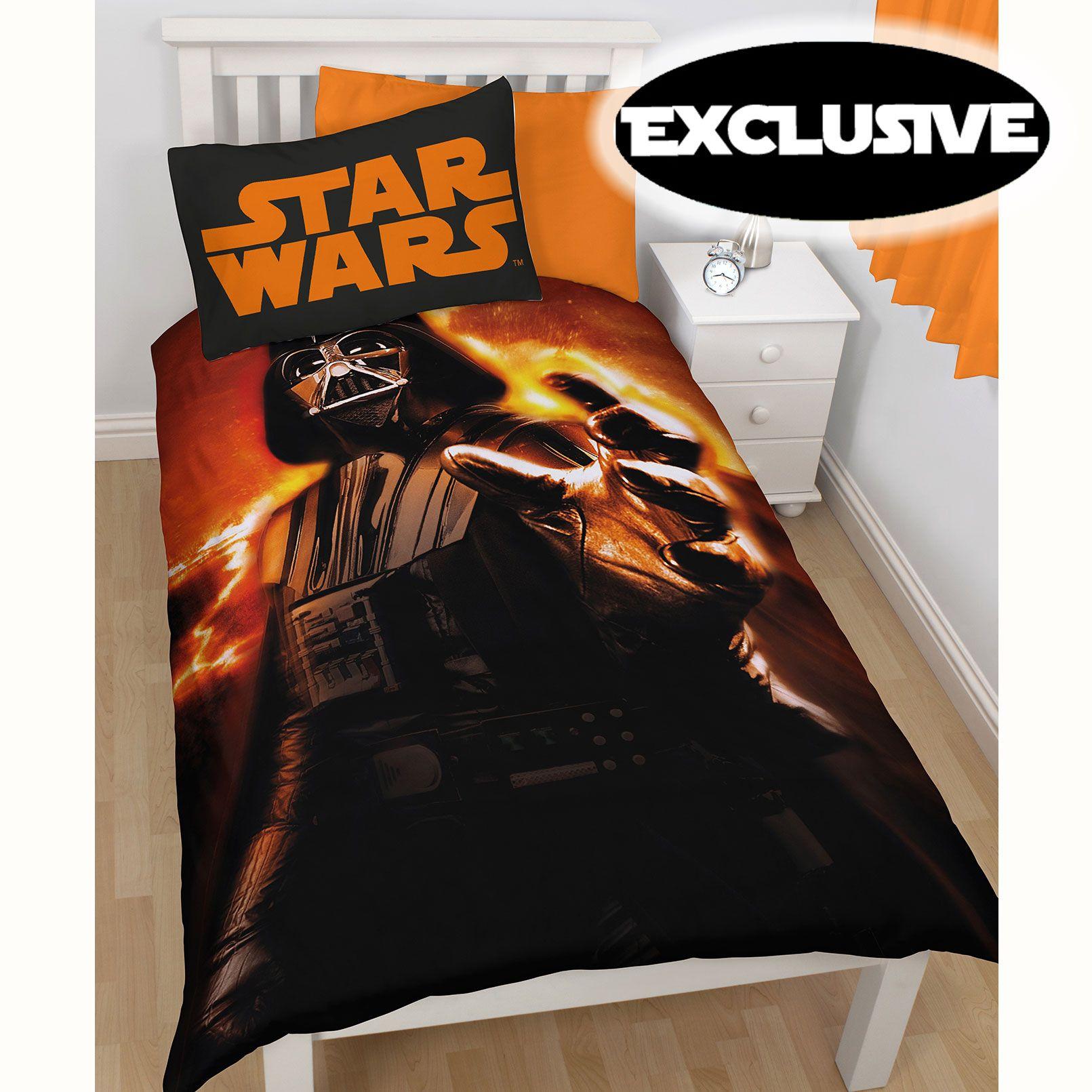 Official Star Wars Lego Duvet Cover Sets Bedding Kids