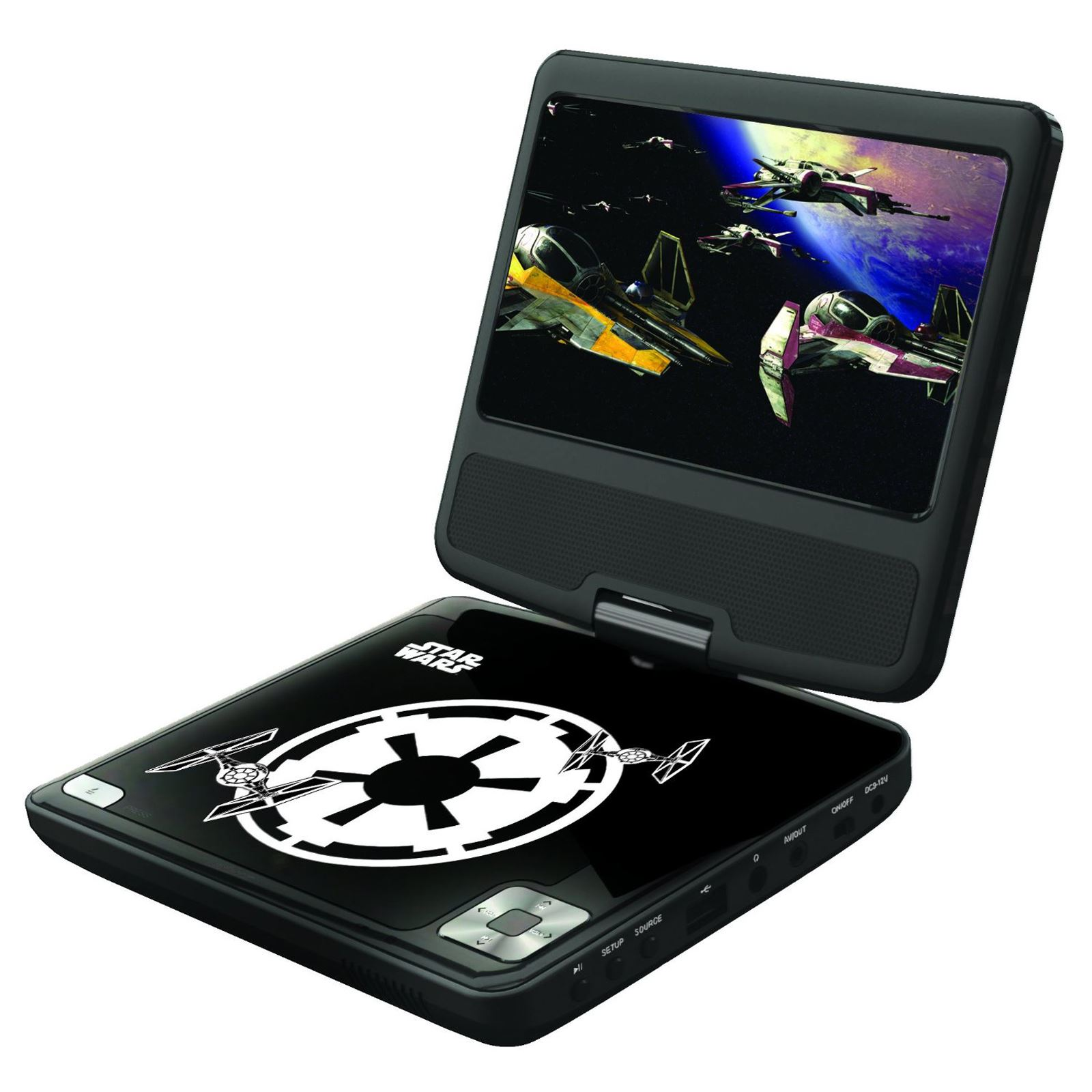 Kids Portable Dvd Player Frozen Avengers Paw Patrol