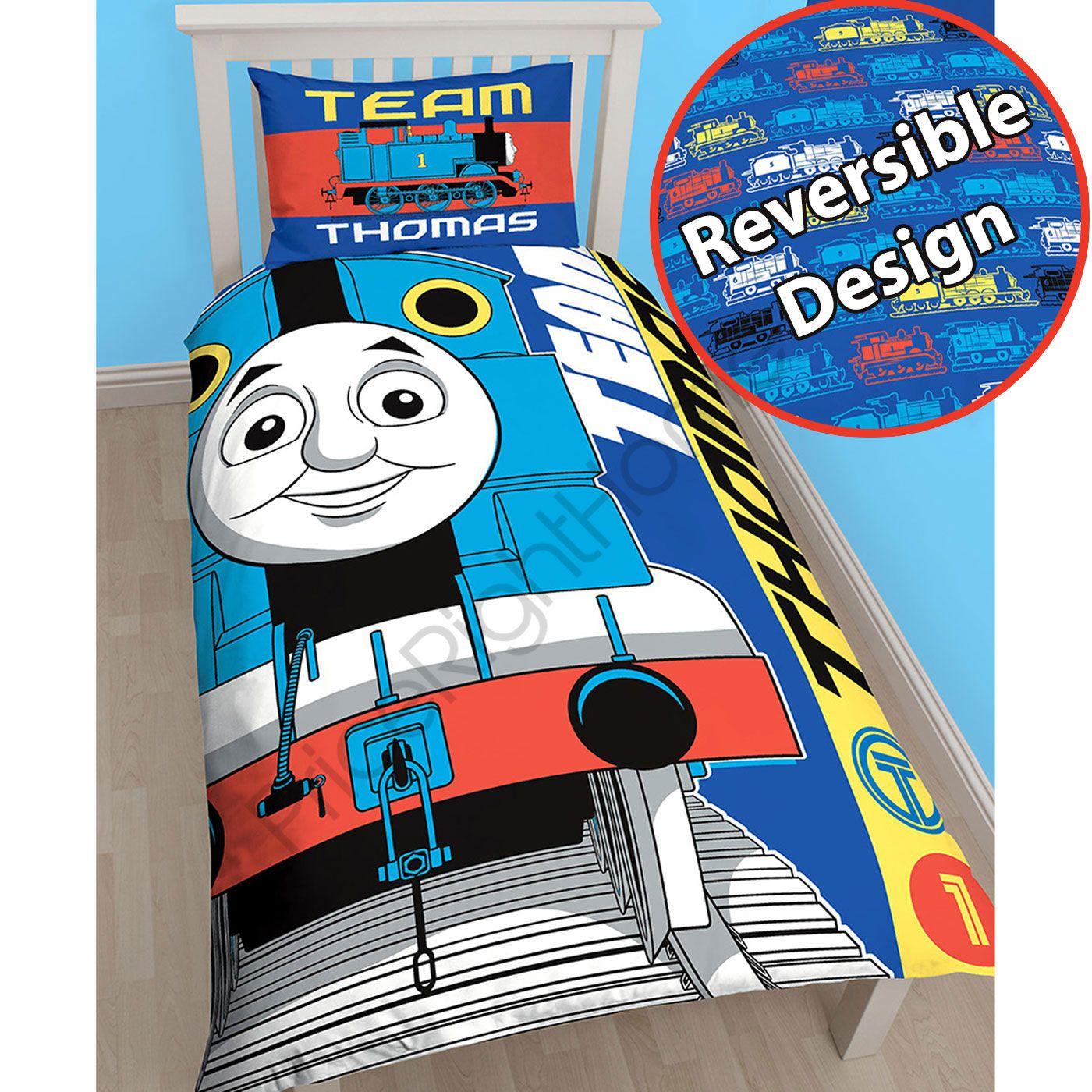 Thomas-the-Tank-Engine-equipe-duvet-individuel-panneau-183cm-rideaux