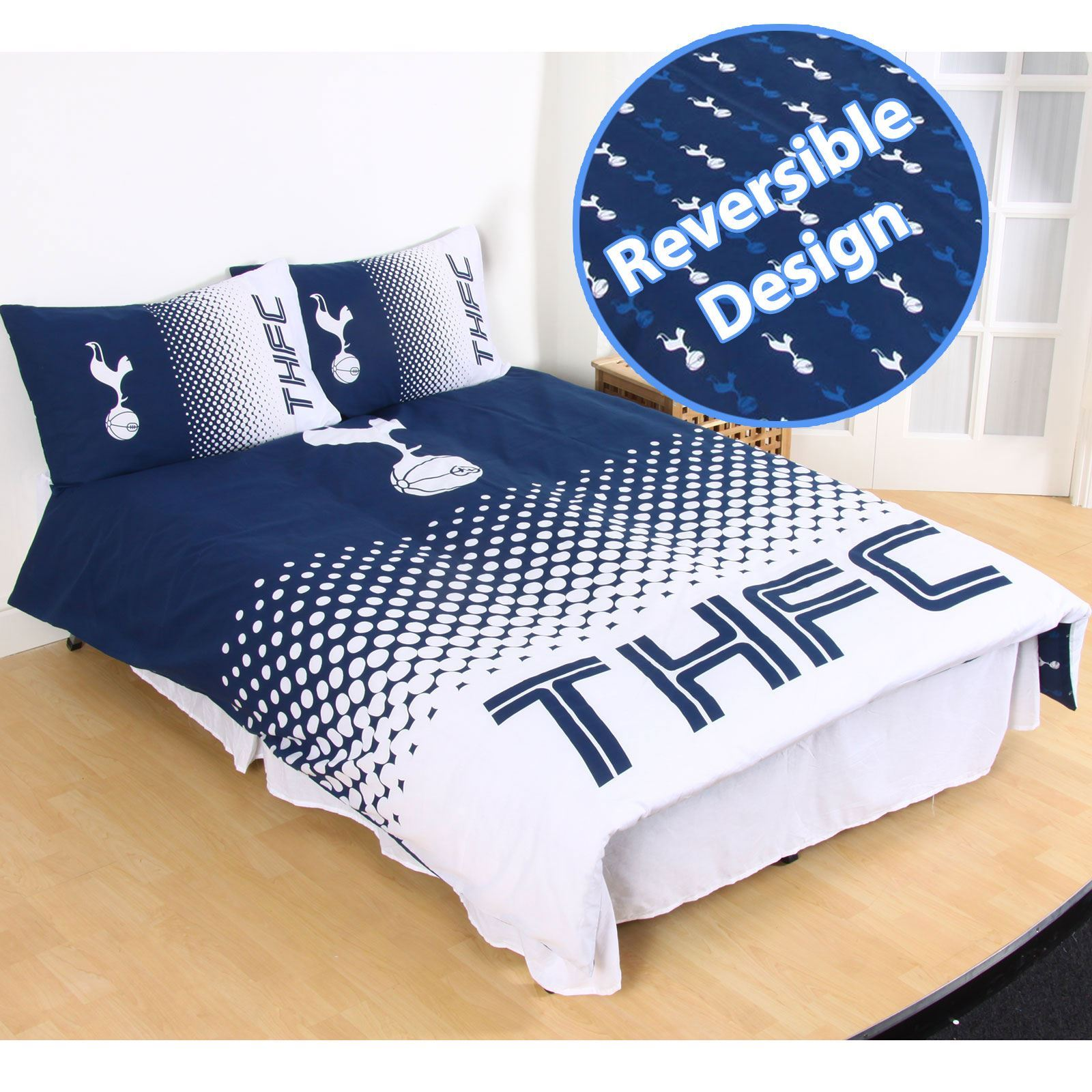 Tottenham Fc Duvet Cover Sets Available In Single Amp Double