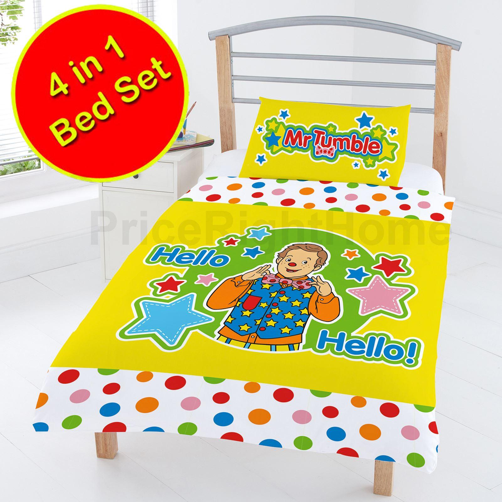 character  generic junior 4 in 1 toddler bedding bundle
