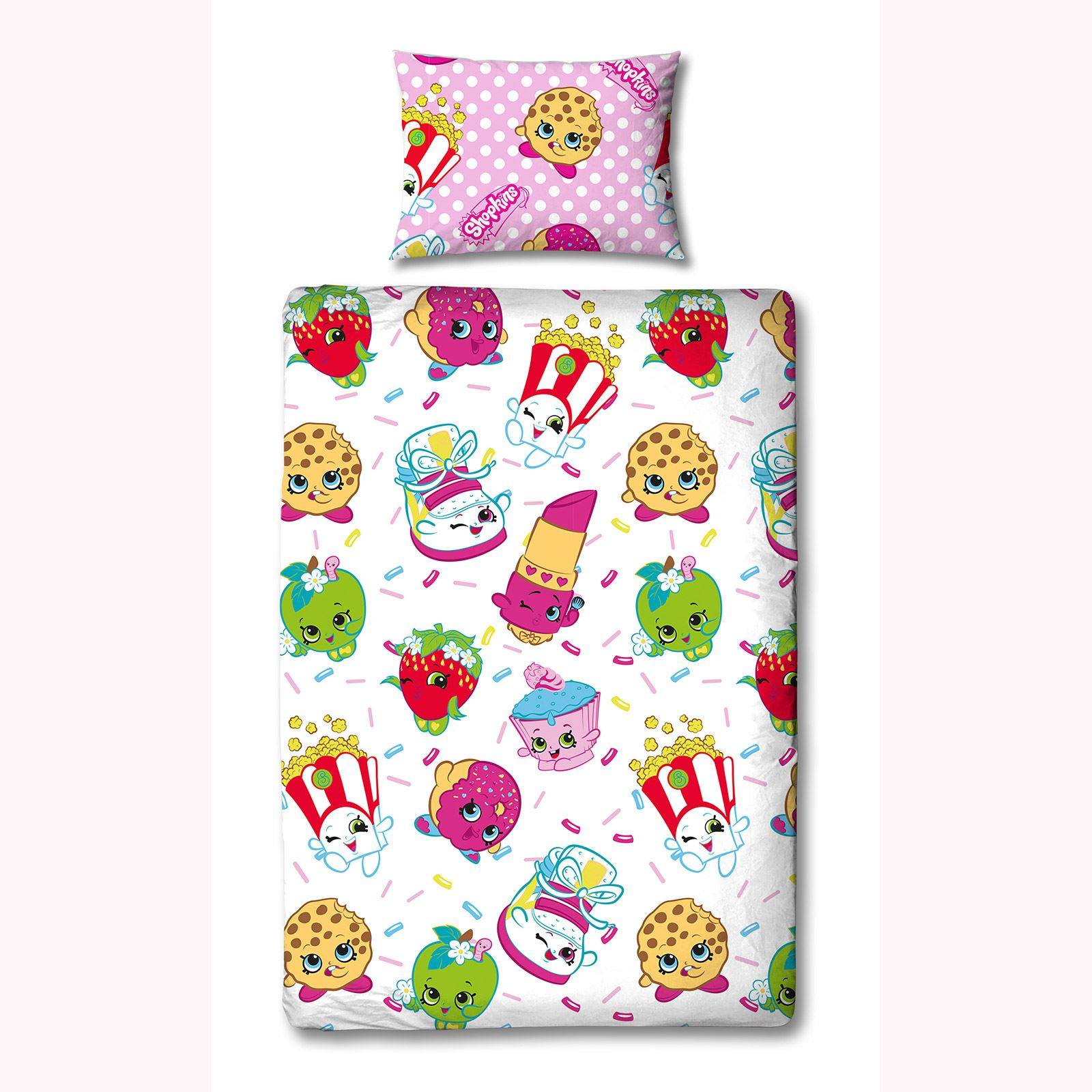 Shopkins Single Duvet Cover Sets Kids Bedding In Stock Now