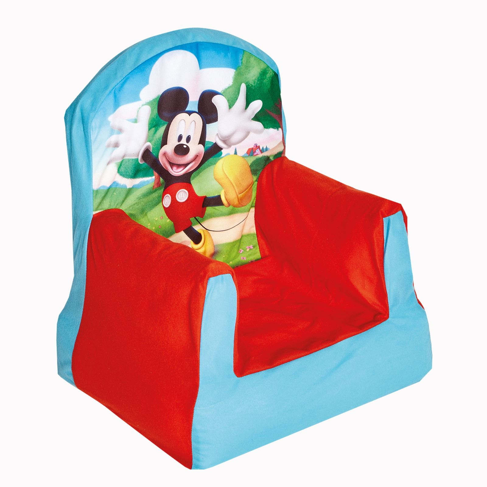 Mickey Mouse Clubhouse Bedroom Furniture Mickey Mouse Clubhouse Cosy Chair Boys Bedroom Furniture New Ebay