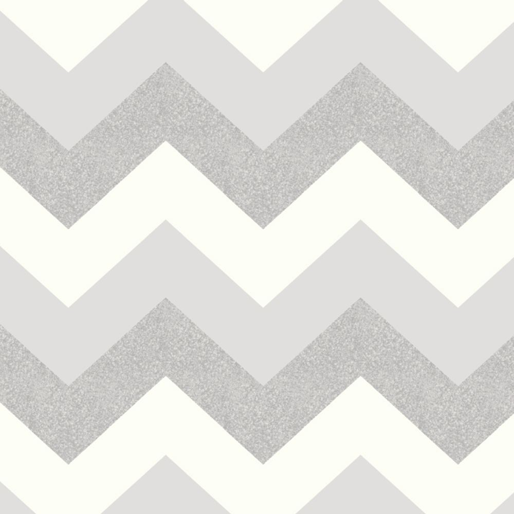 GLITTERATI WALLPAPER RANGE BY ARTHOUSE GLITTER CHEVRON STRIPE