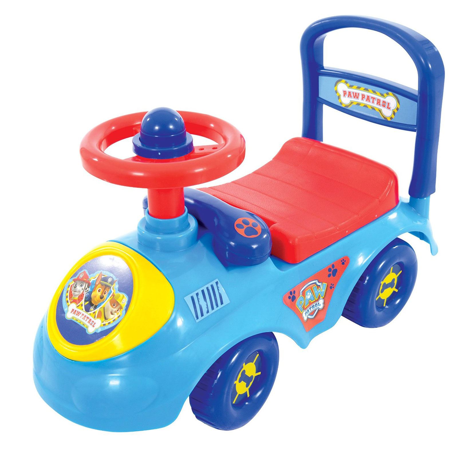 KIDS MY FIRST RIDE ON & WALKER AGE 1 THOMAS PAW PATROL PEPPA