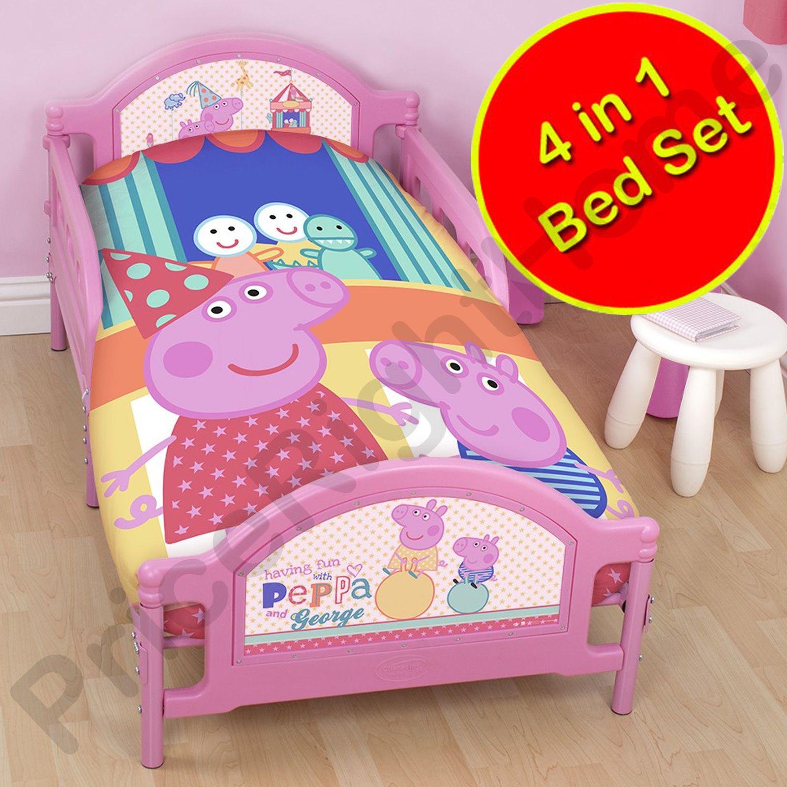 Disney Amp Character 4 In 1 Toddler Bedding Bundles Duvet