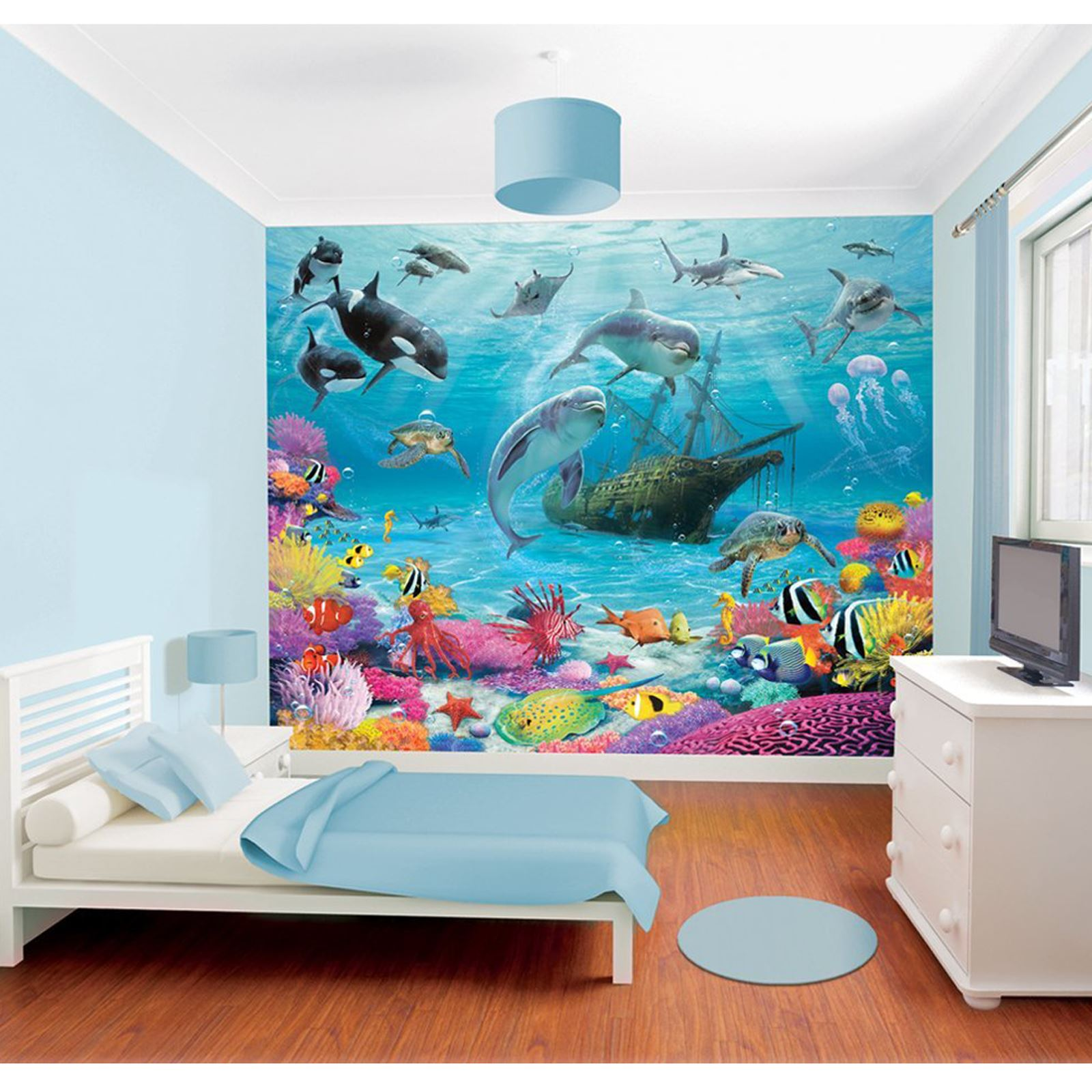 WALLTASTIC WALLPAPER WALL MURALS KIDS BEDROOM PEPPA AVENGERS  Part 73