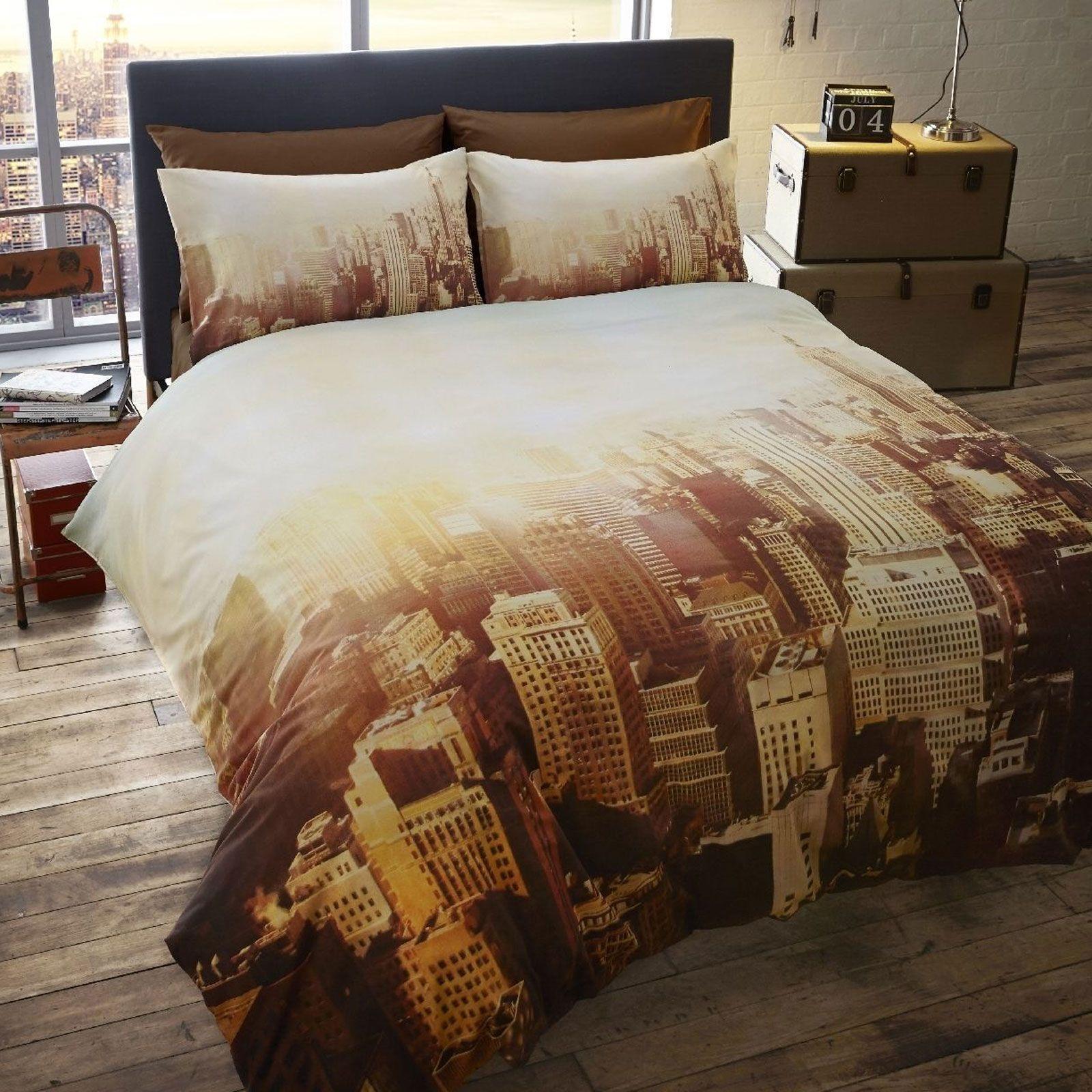 New York Skyline Bedding Sets Uk