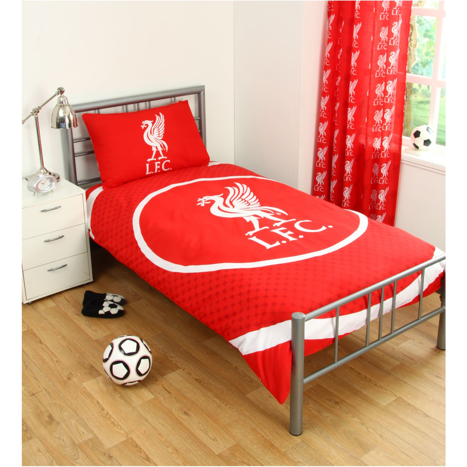 SINGLE FOOTBALL DUVET COVER BEDDING SETS