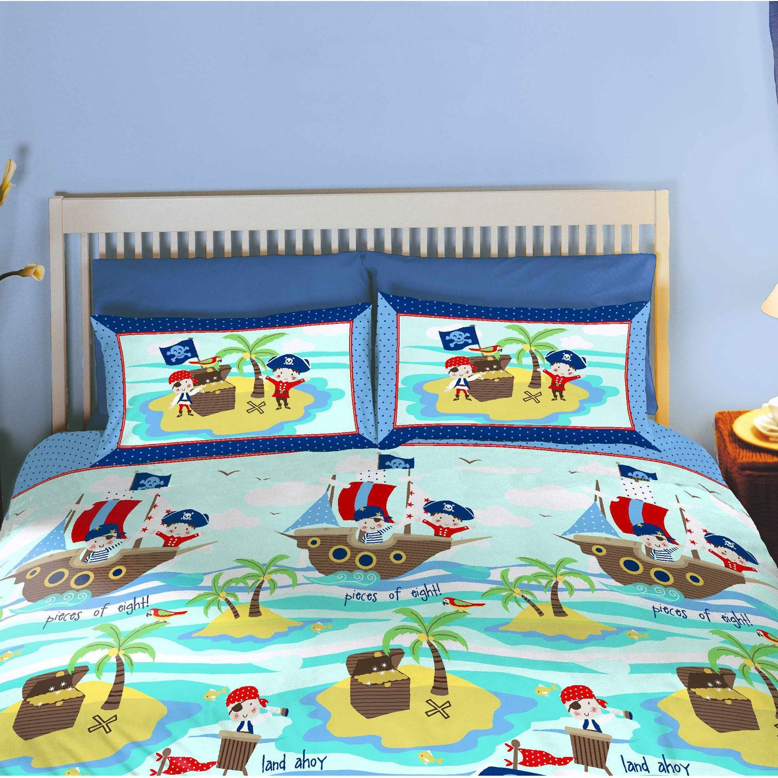 Seven seas pirates bedding bedroom accessories duvet for Housse de couette canada