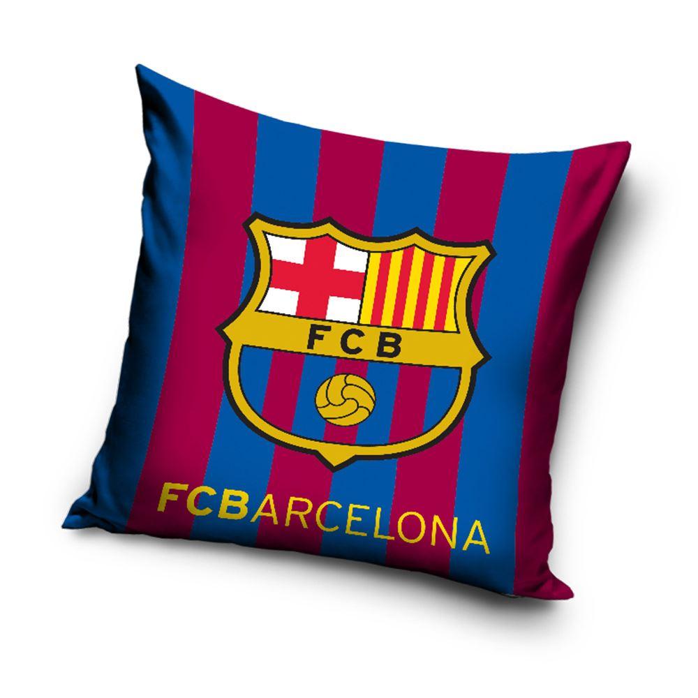 Wunderbar FC BARCELONA Streifen Kissen BLUE RED FOOTBALL CLUB CREST Schlafzimmer 40 X  40 Cm