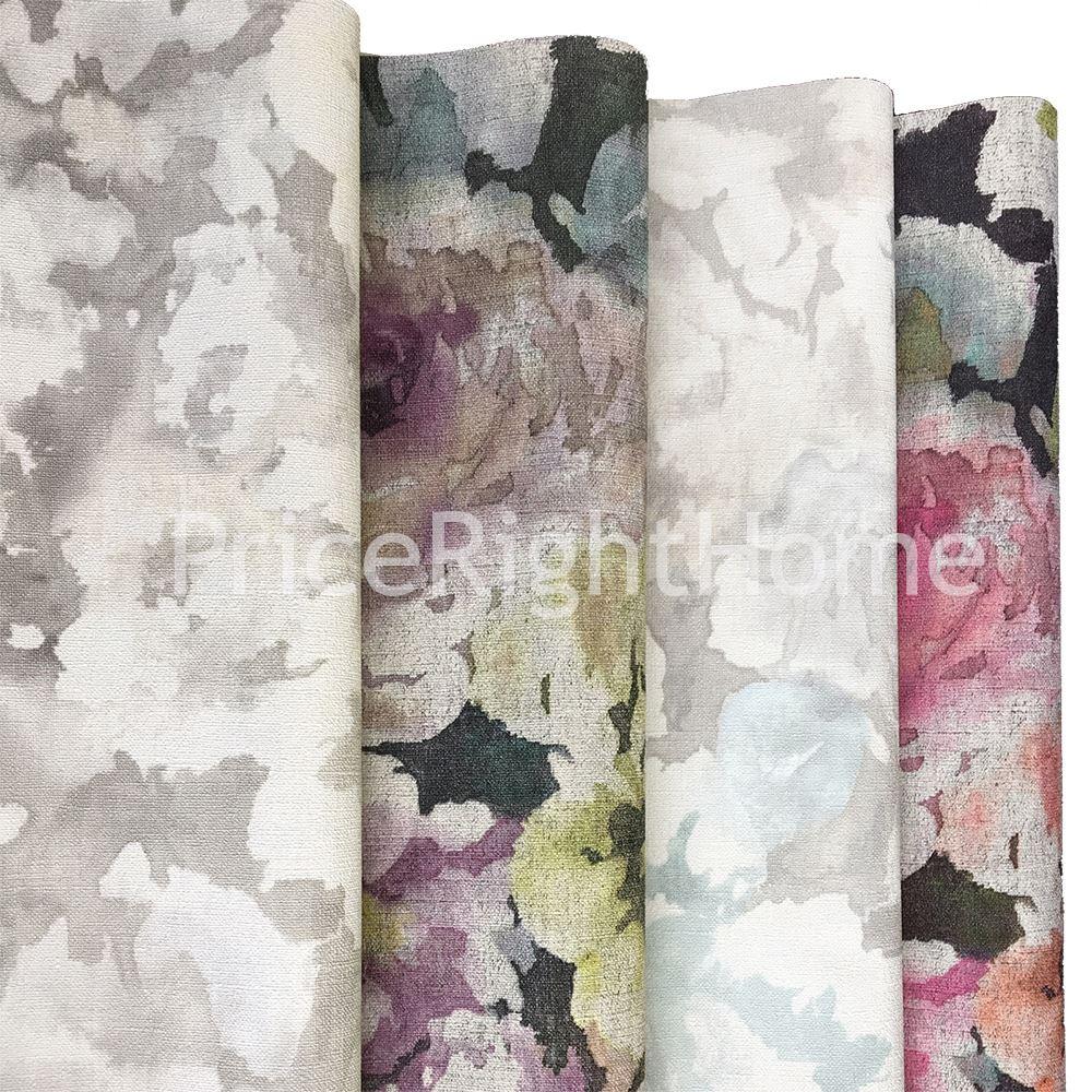 florentine tissu motif floral papier peint gris bleu p le rasch 455632 ebay. Black Bedroom Furniture Sets. Home Design Ideas