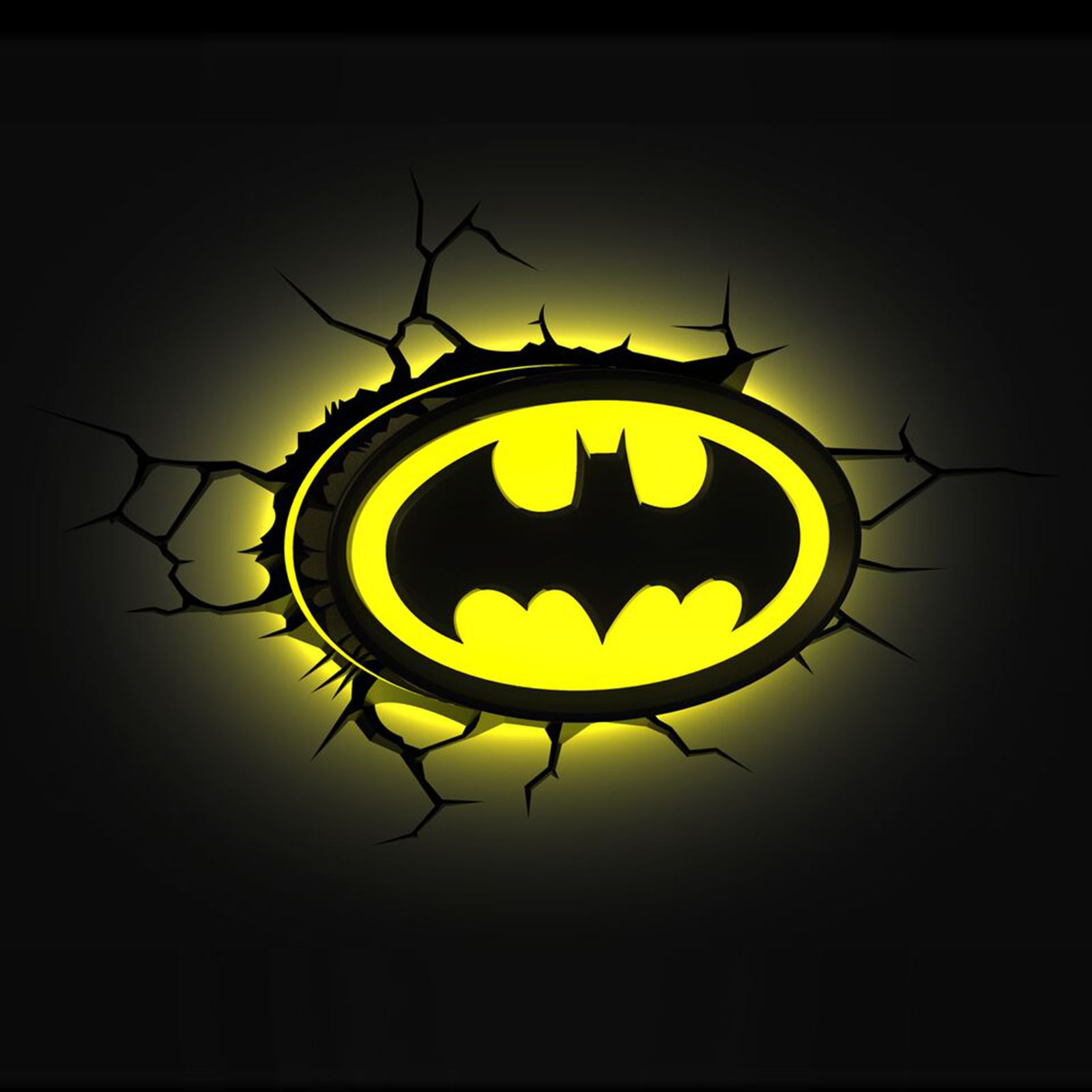 Batman Wall Light Diy : BATMAN LOGO 3D LED WALL NIGHT LIGHT NEW DC COMICS BEDROOM eBay