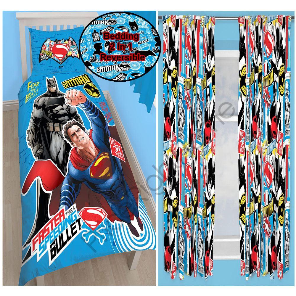 DC COMICS BATMAN V SUPERMAN BEDDING Amp CHOICE