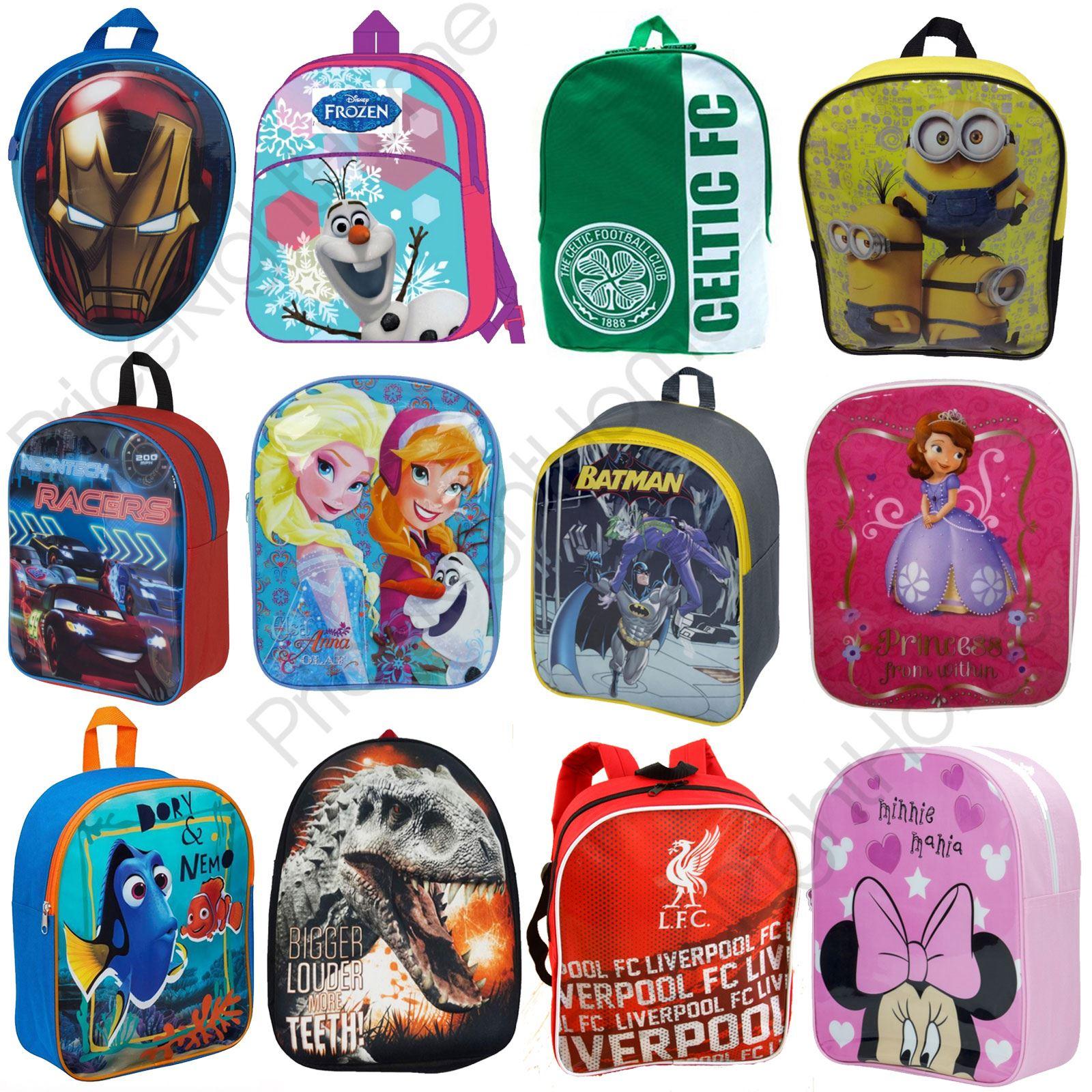 82f434013d KIDS CHARACTER BACKPACKS BOYS   GIRLS SCHOOL BAGS POKEMON PAW PATROL DORY  NEW