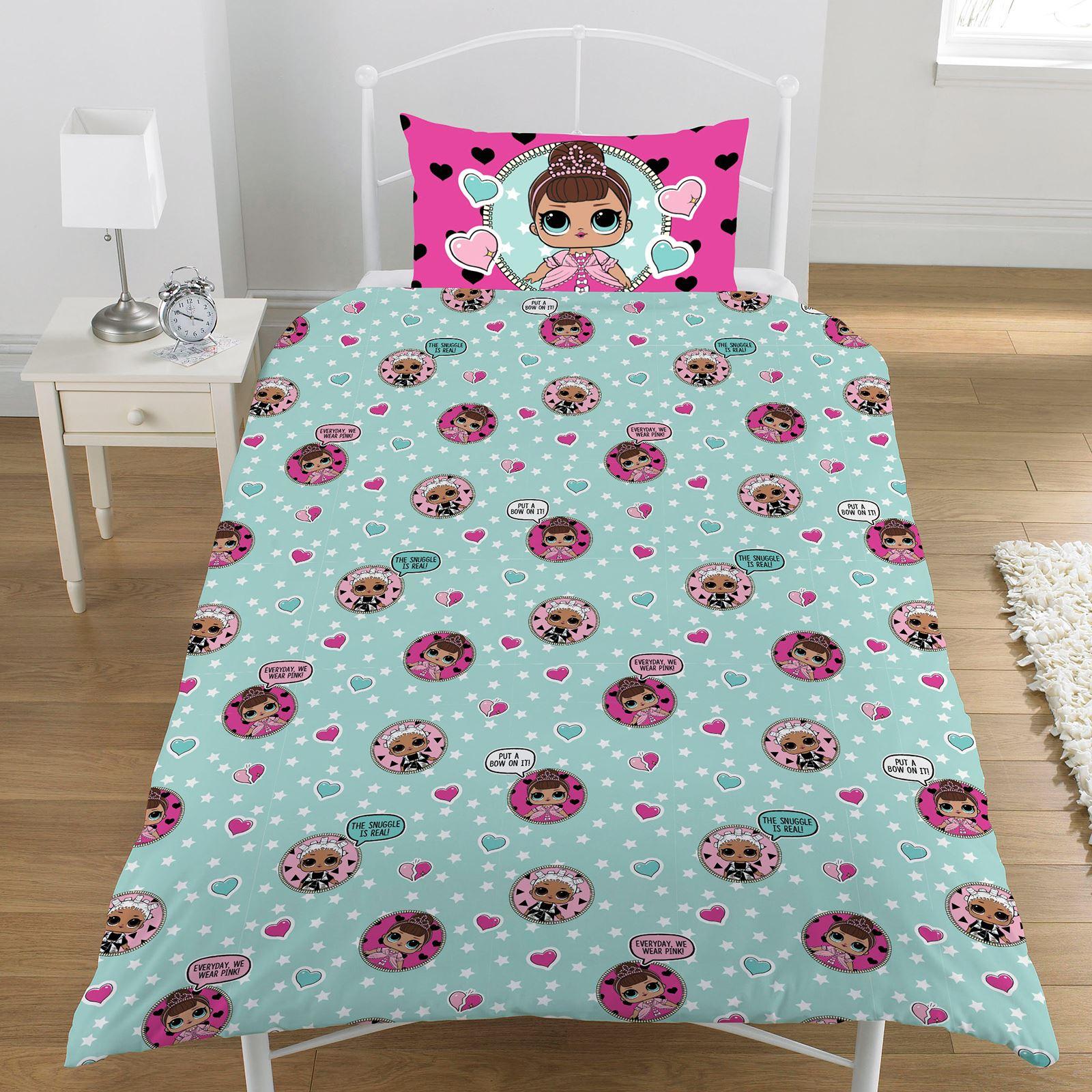 Lol Surprise Gegenteil Einzelbettbezug Set Wende Kinder Bettwäsche
