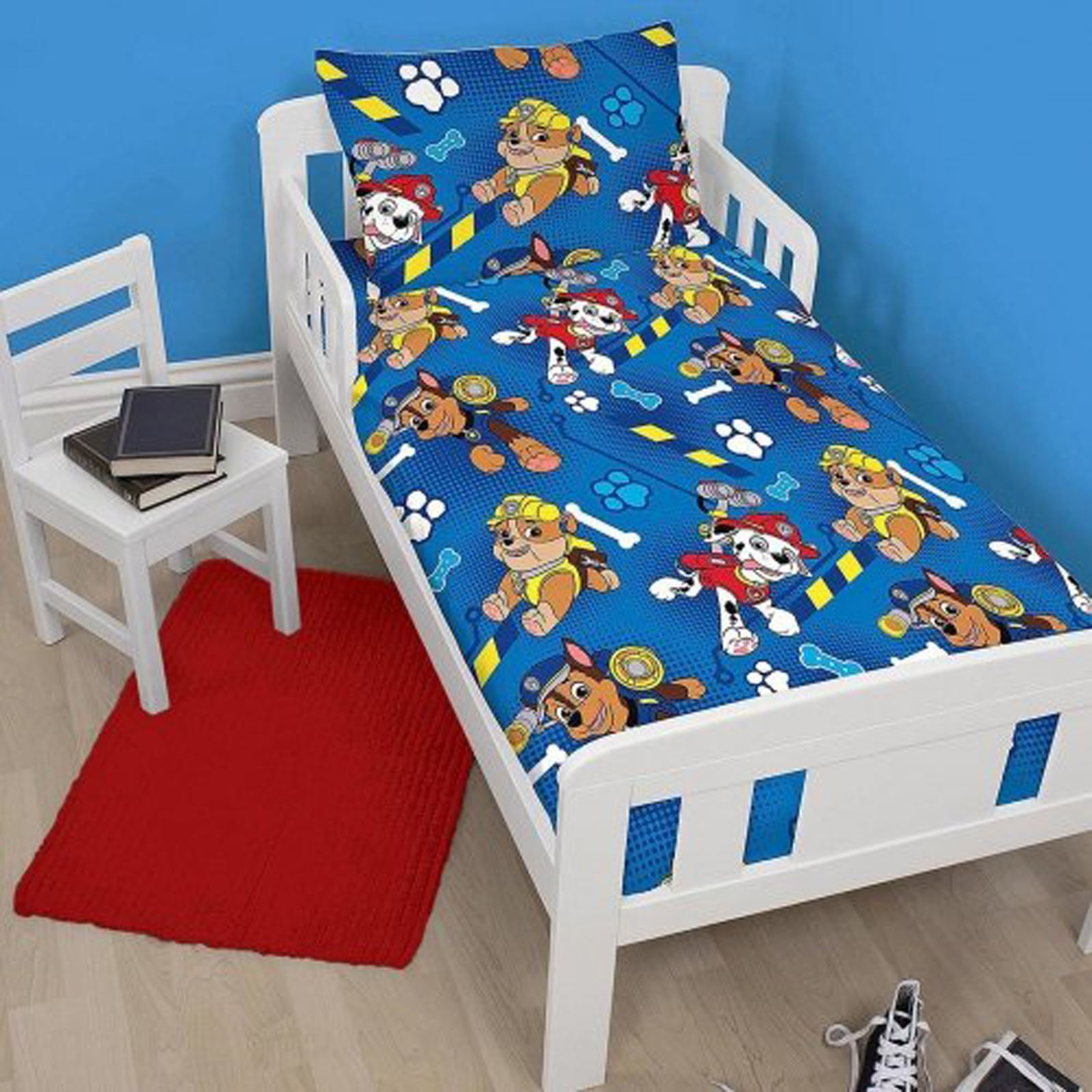 PAW PATROL OFFICIAL DUVET COVER SETS VARIOUS DESIGNS KIDS BEDROOM ...