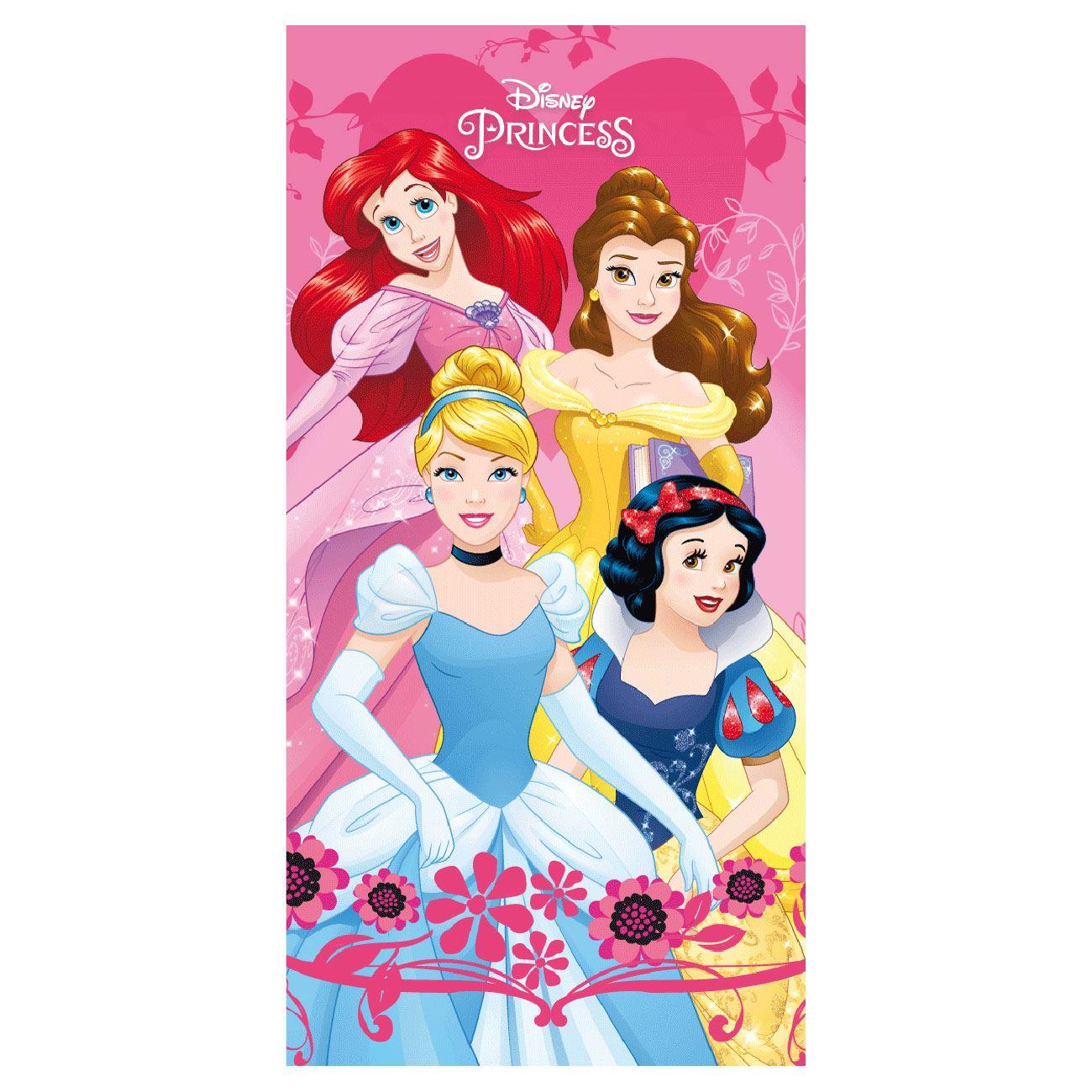 Disney Princess Arielle Sirène Serviette 70 cm x 140 cm serviette Serviettes