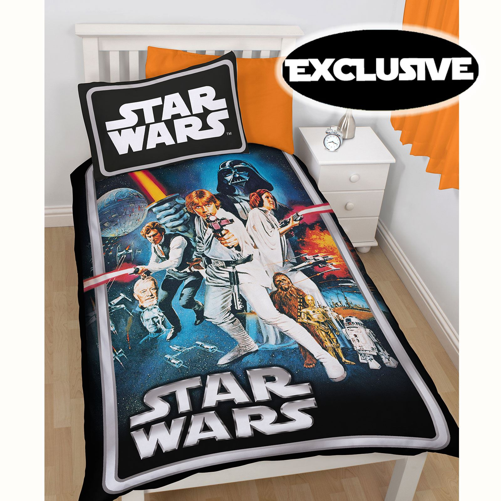OFFICIAL STAR WARS LEGO DUVET COVER SETS BEDDING