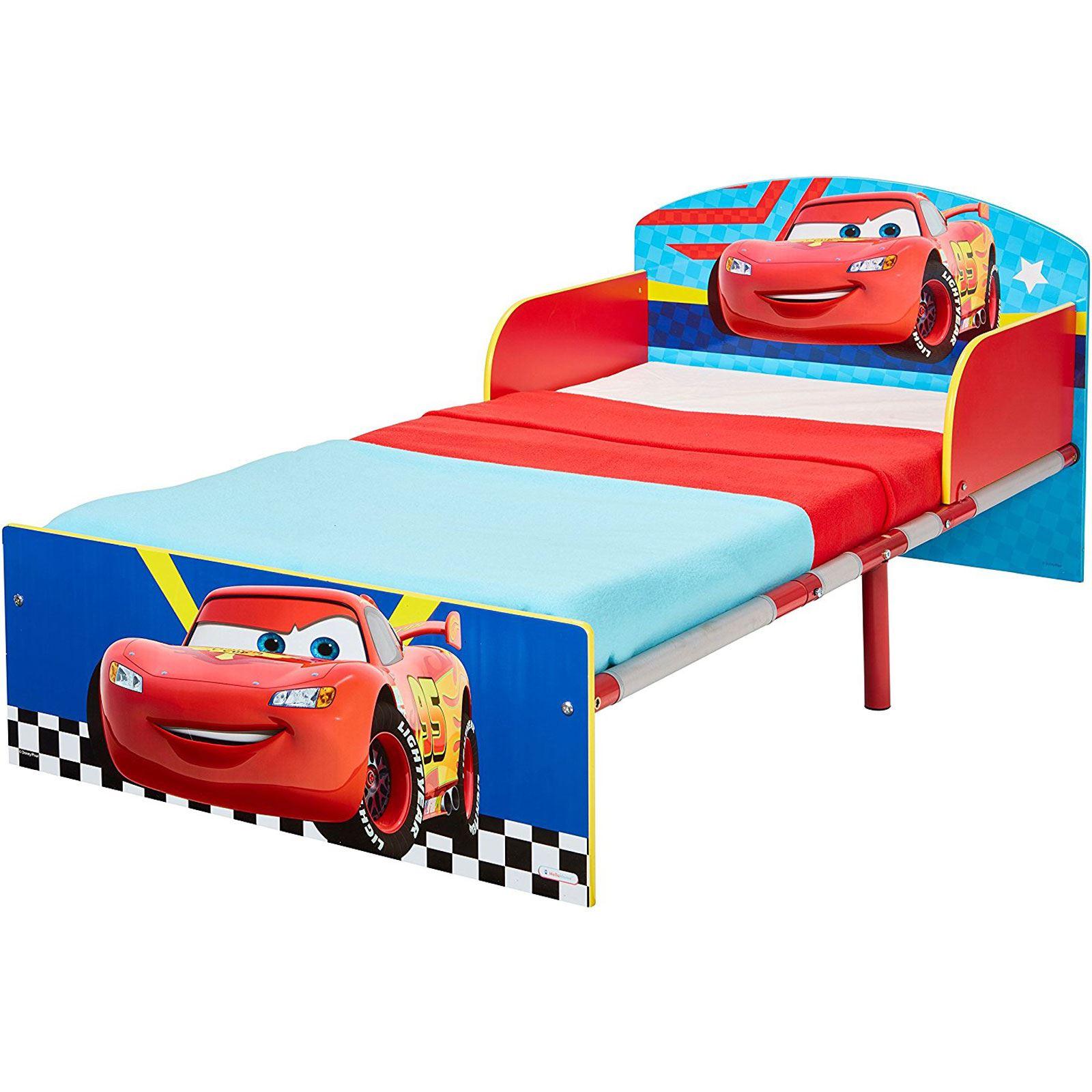 miniatura 7 - KIDS CHARACTER TODDLER BEDS - BOYS GIRLS BEDROOM DISNEY